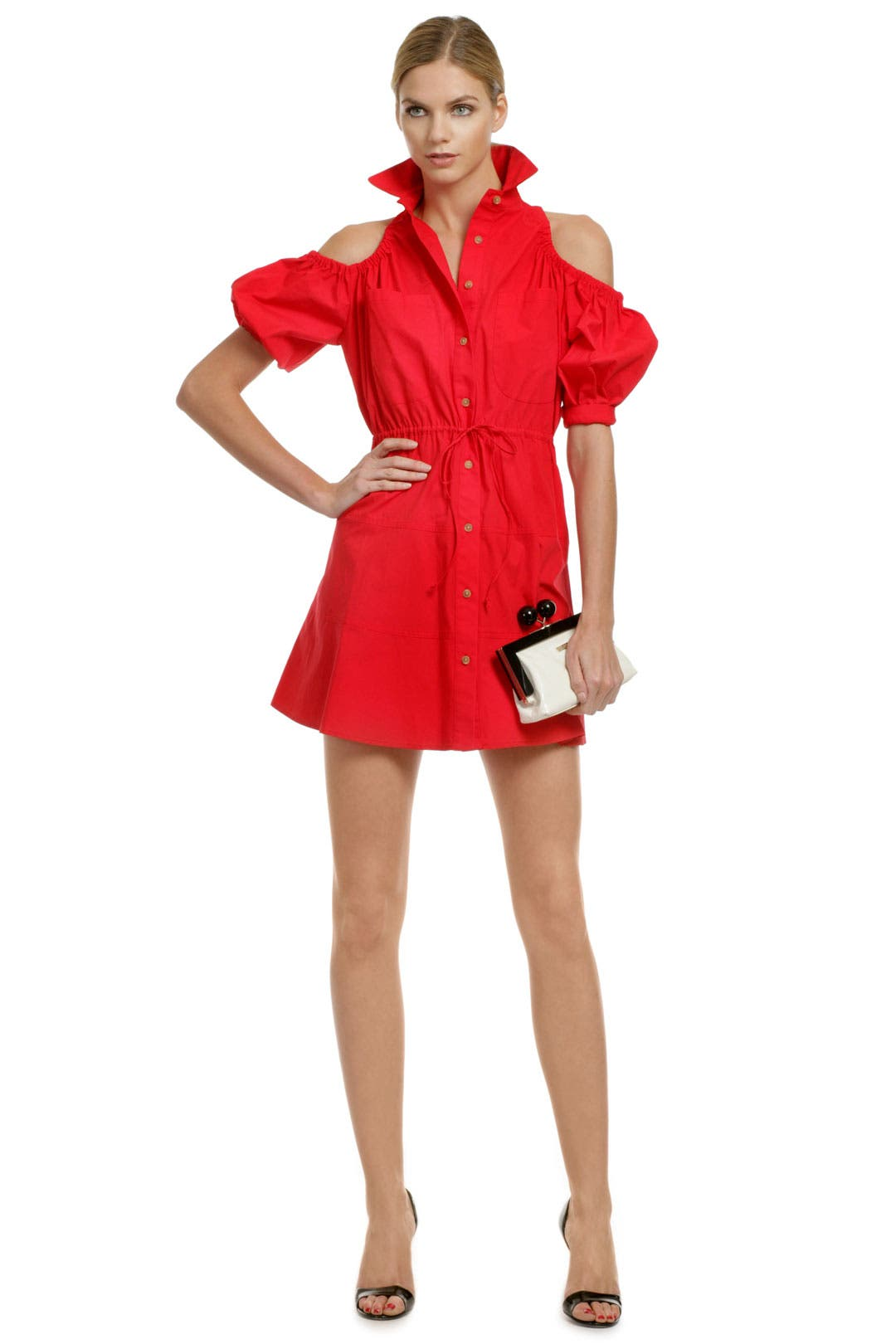 It Girl Shirt Dress by Opening Ceremony