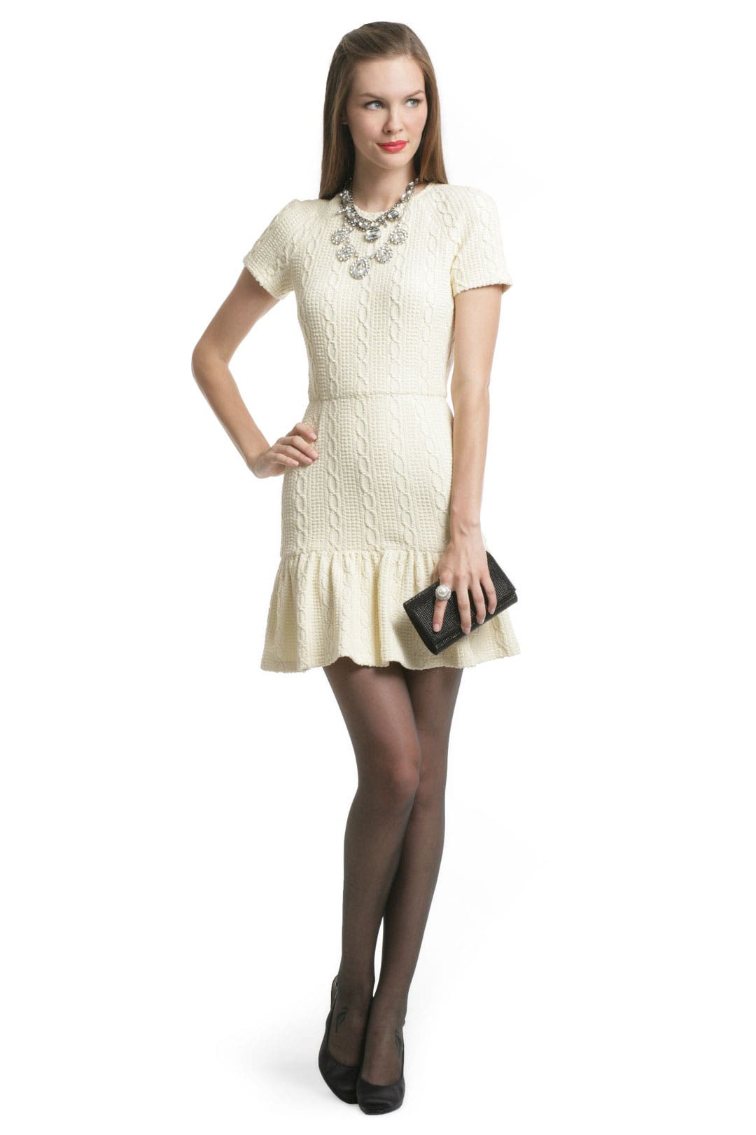 Ivory Glam Dress by Opening Ceremony