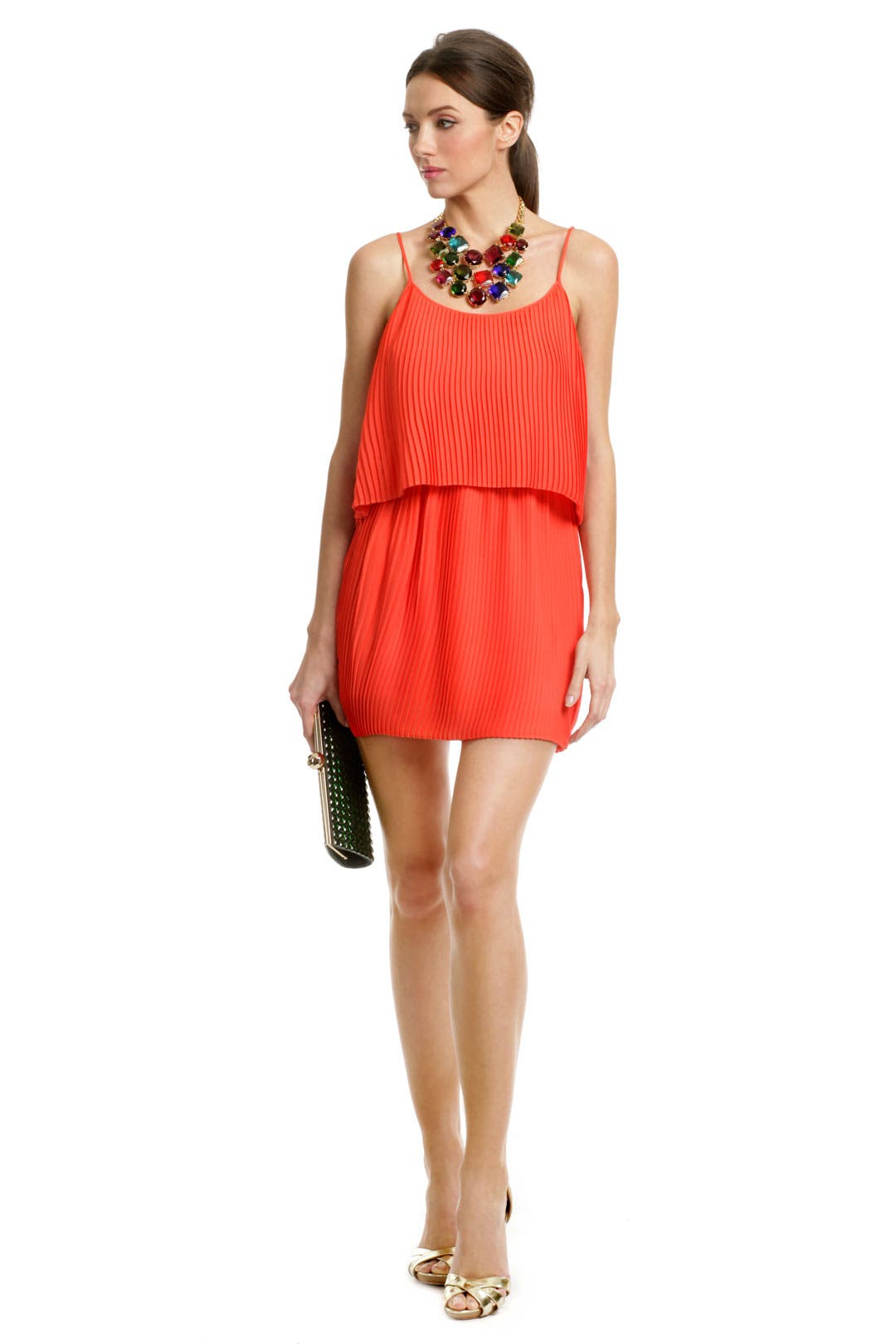 Tropical Coral Escape Dress by Parker