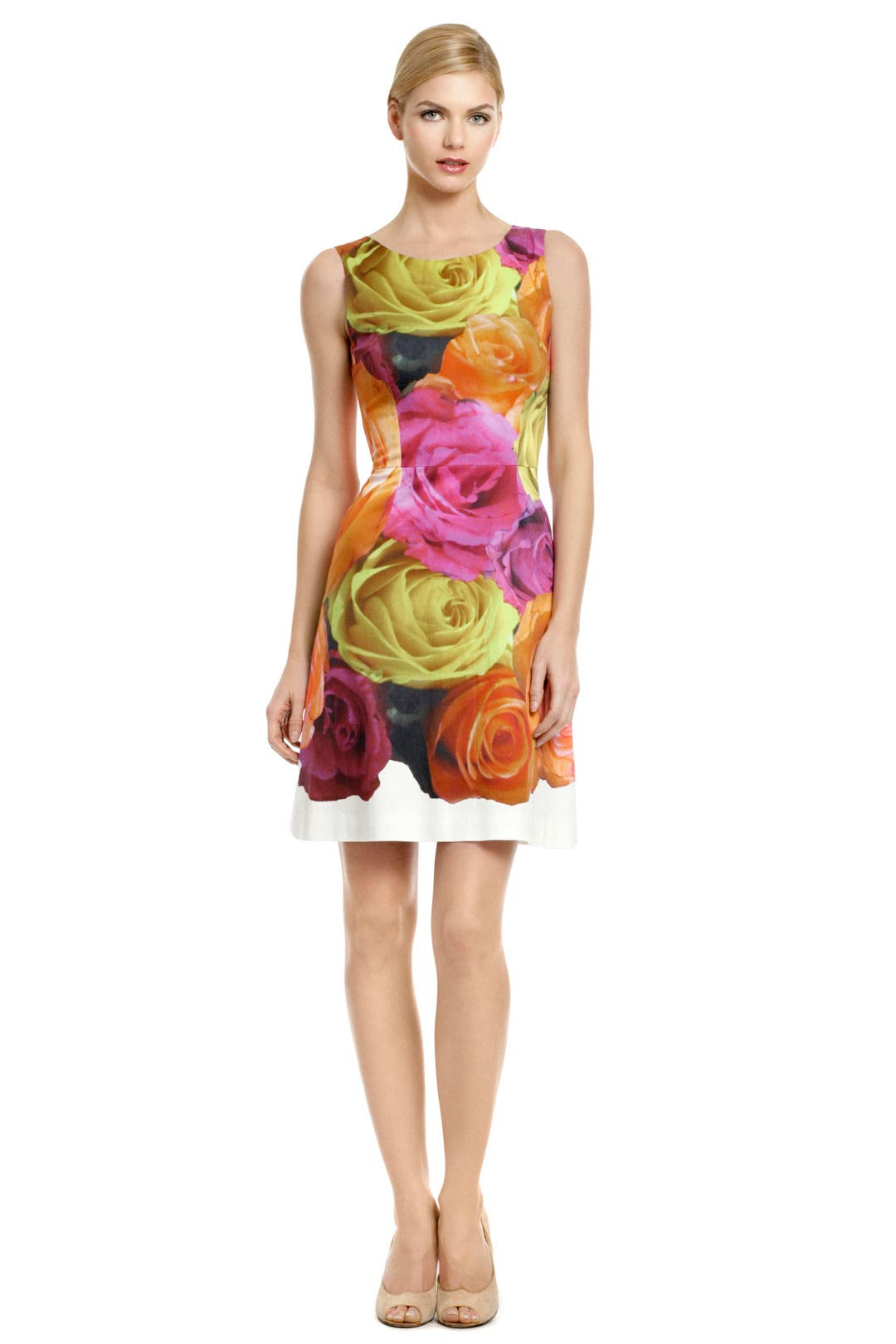 Go Out With a Bloom Dress by Peter Som