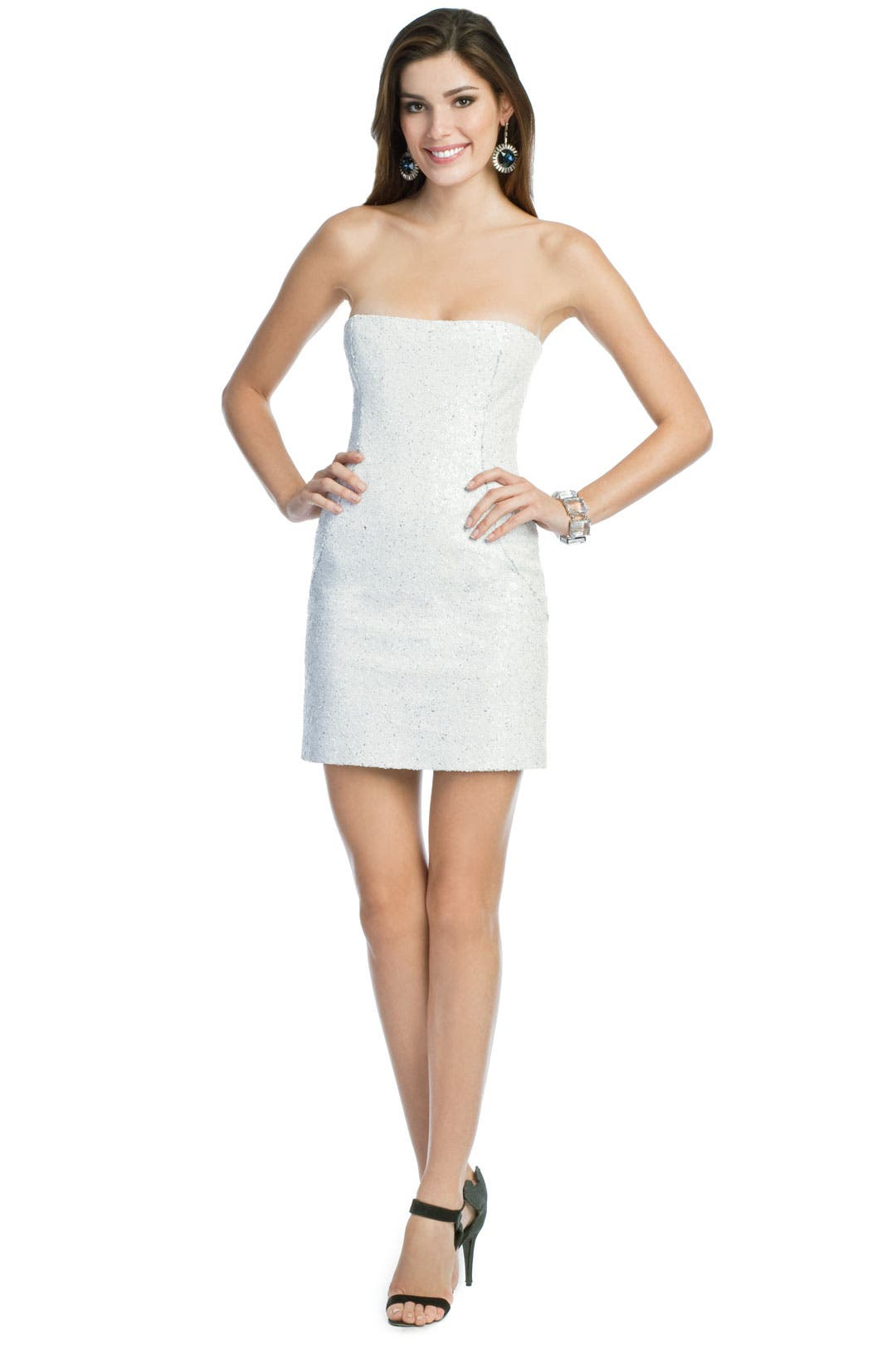 White Hot Sequin Dress by Peter Soronen