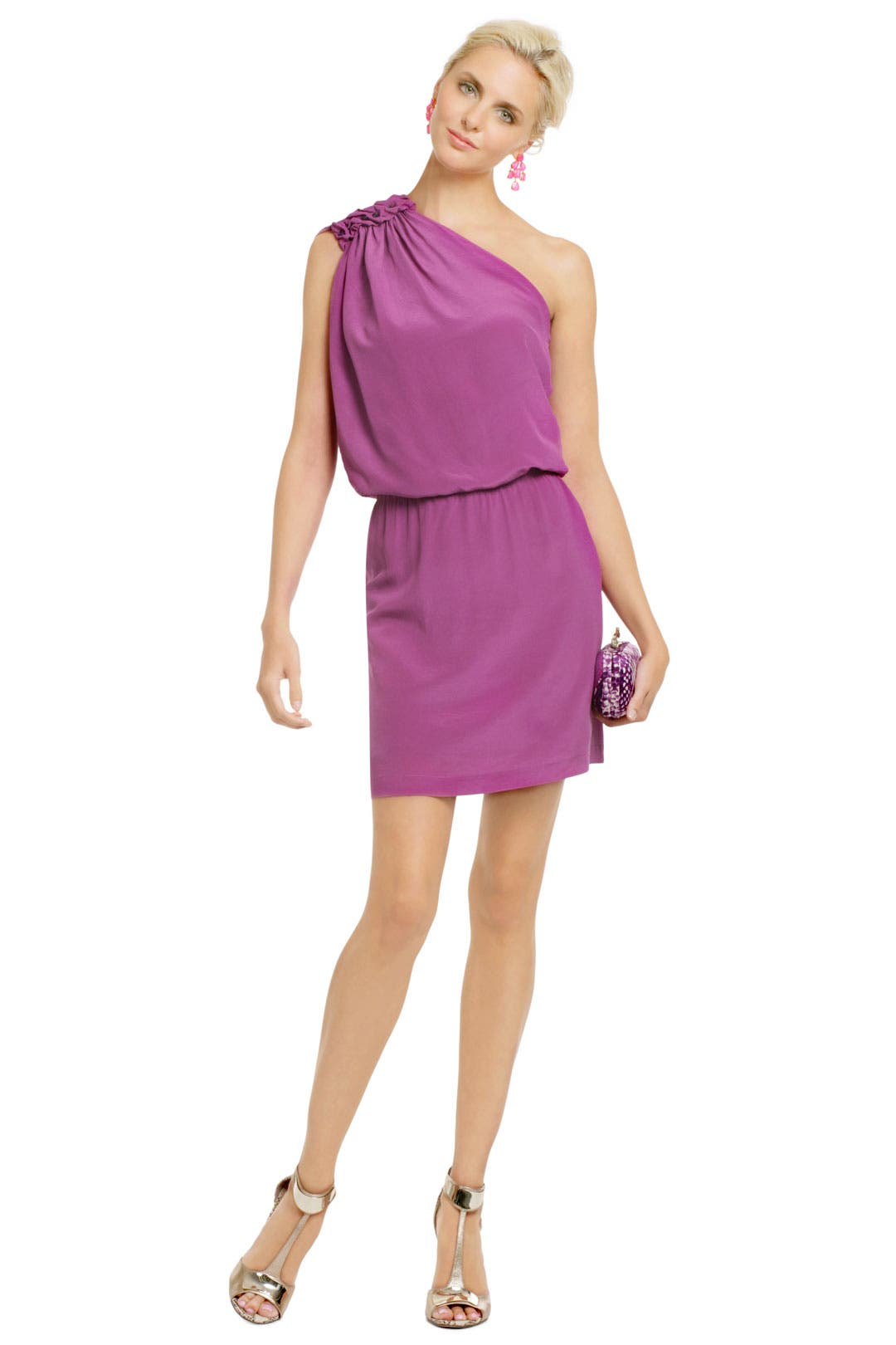 Magenta Fever Dress by Philosophy Di Alberta Ferretti