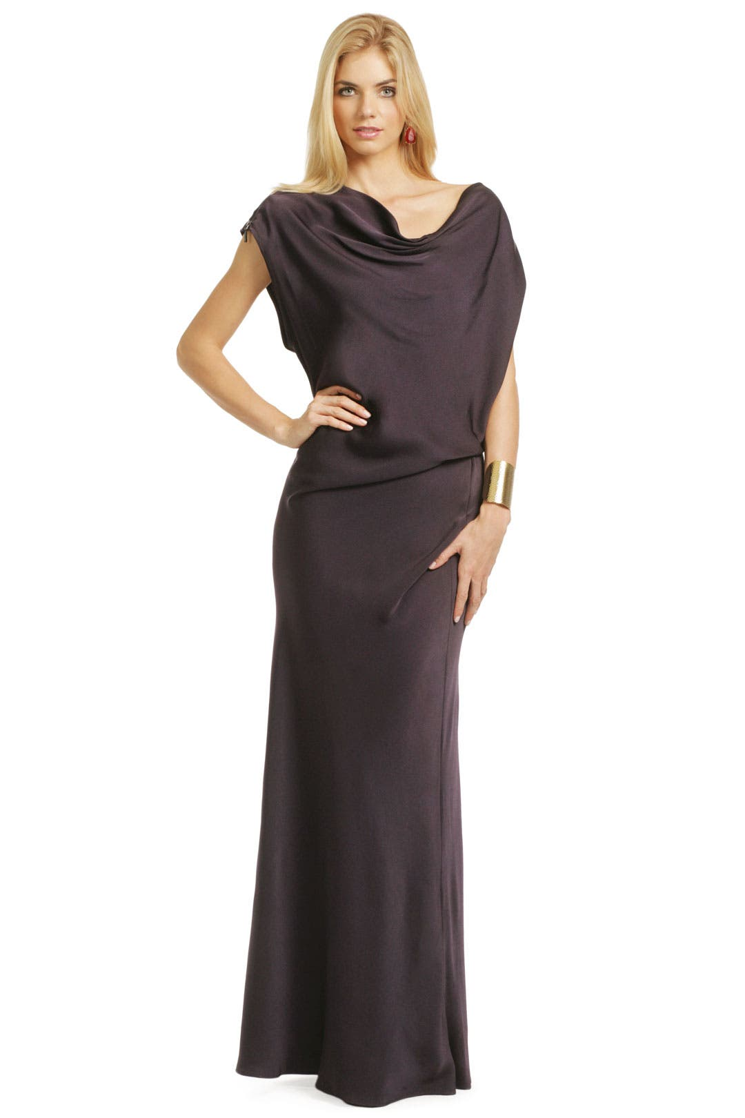 Draped To Perfection Gown by Plein Sud