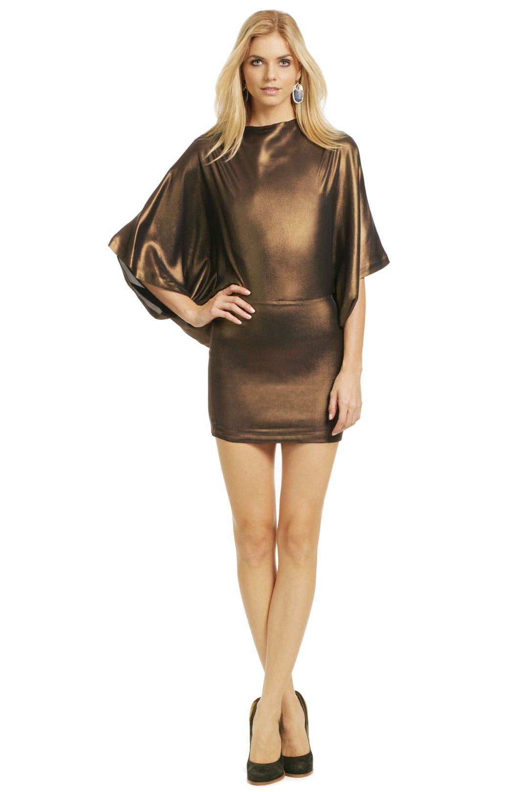 Go For the Bronze Dress by Plein Sud