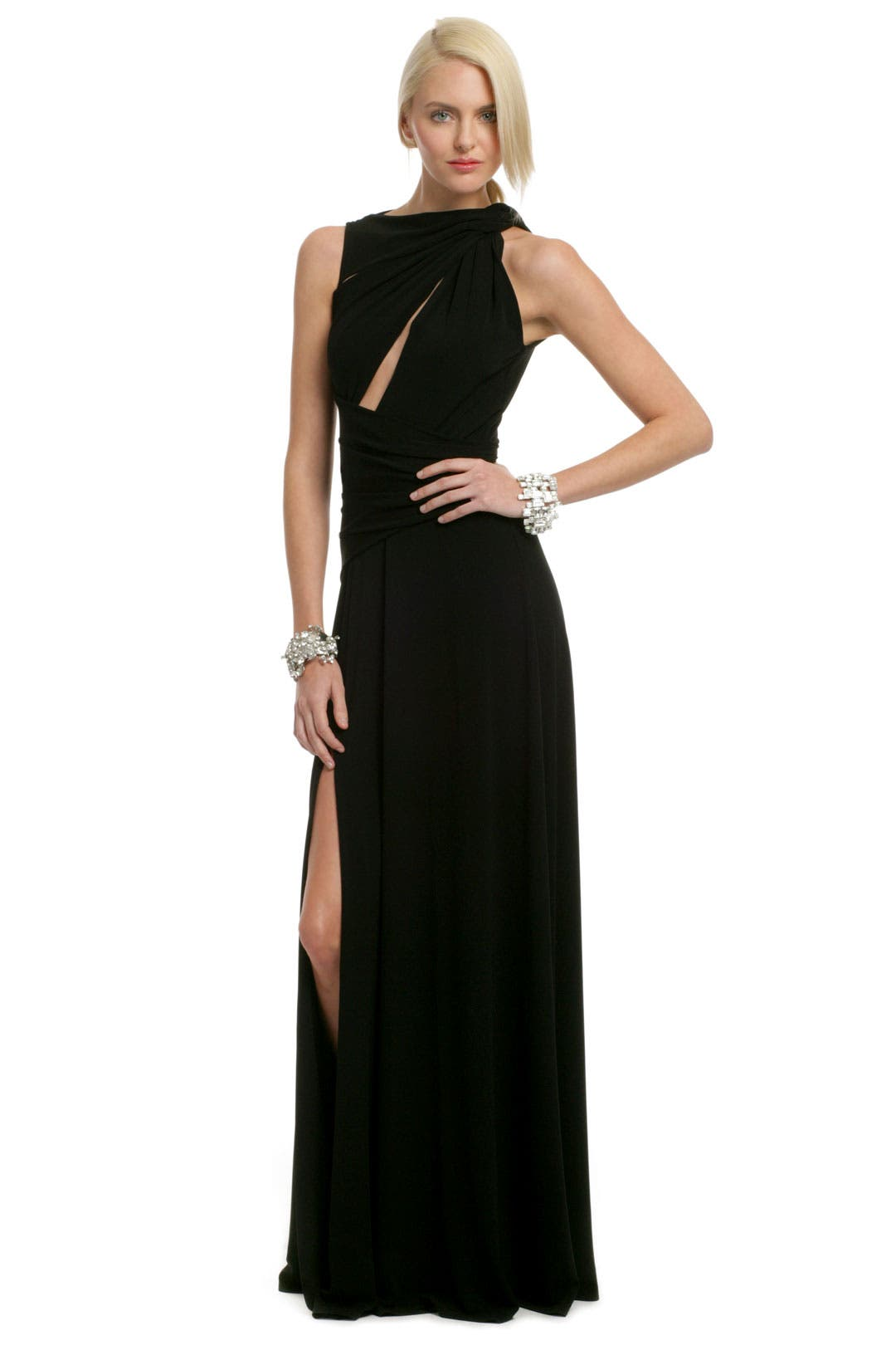 Wanted Cutout Gown by Plein Sud