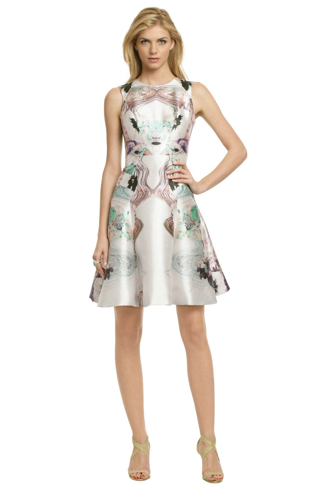 Pastel Floral Fantasy Dress by Prabal Gurung