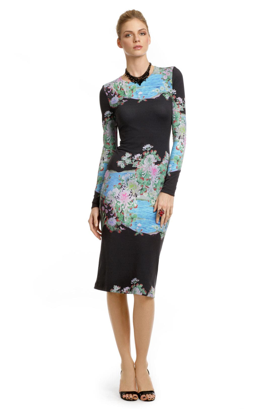 Classical Gardens Dress by Preen