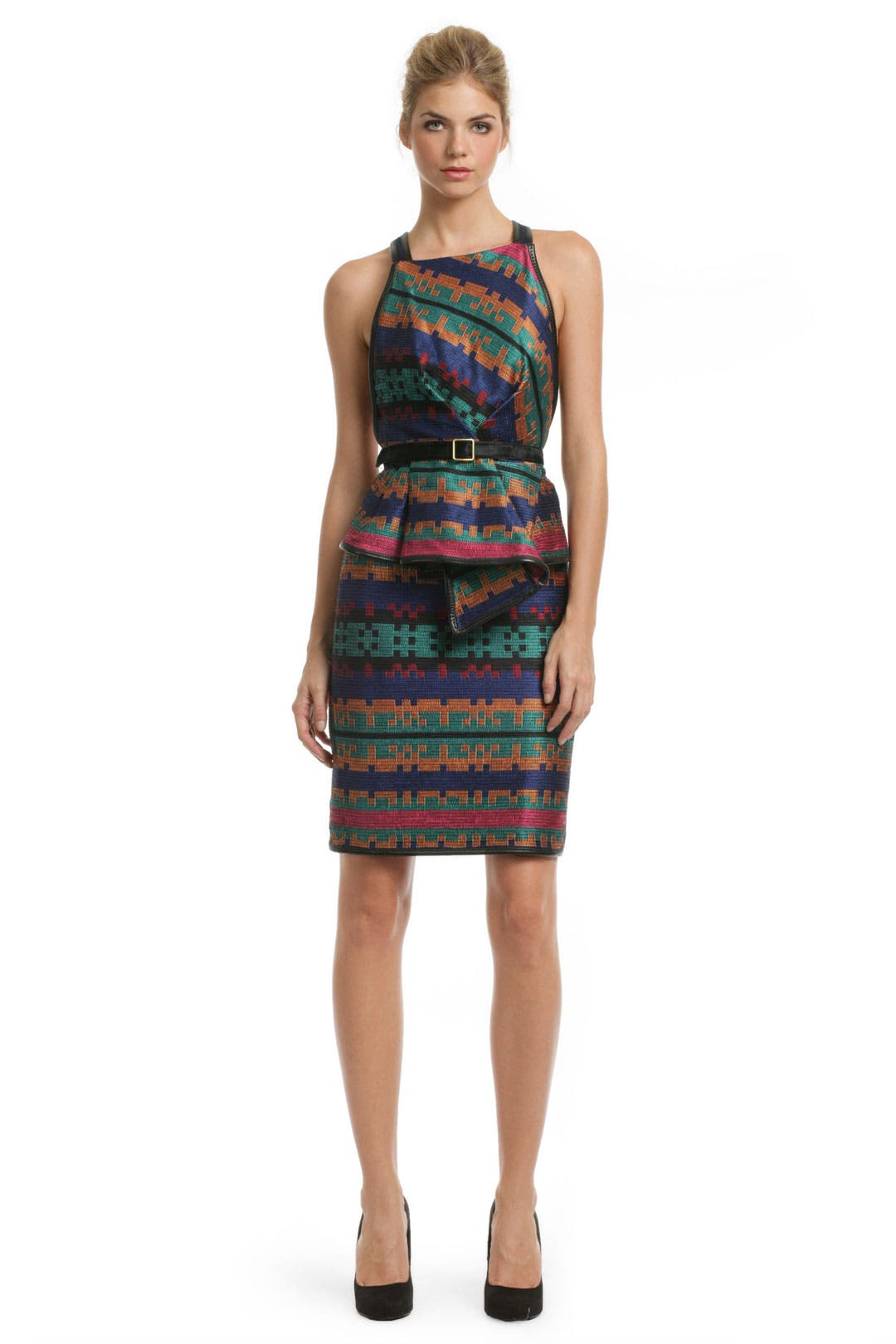 Dakota Tribal Dress by Proenza Schouler