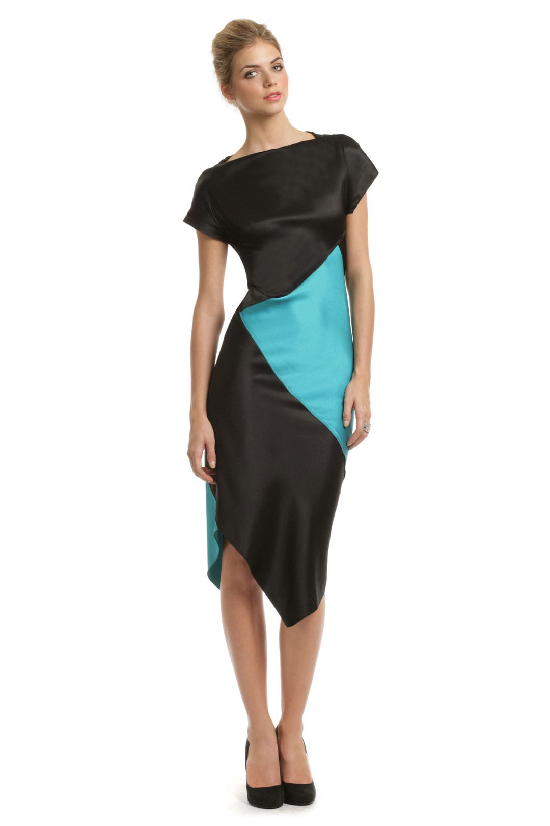 Picasso Colorblock Dress by Proenza Schouler