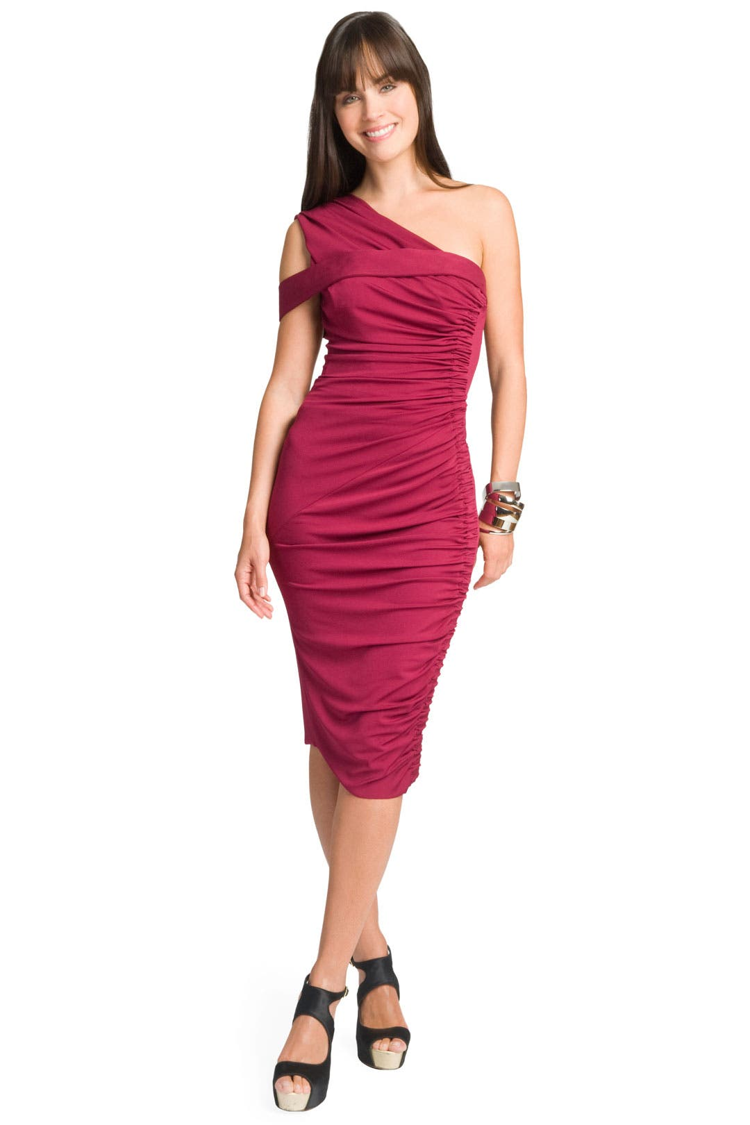 Lipstained Stretch Dress by Rachel Roy