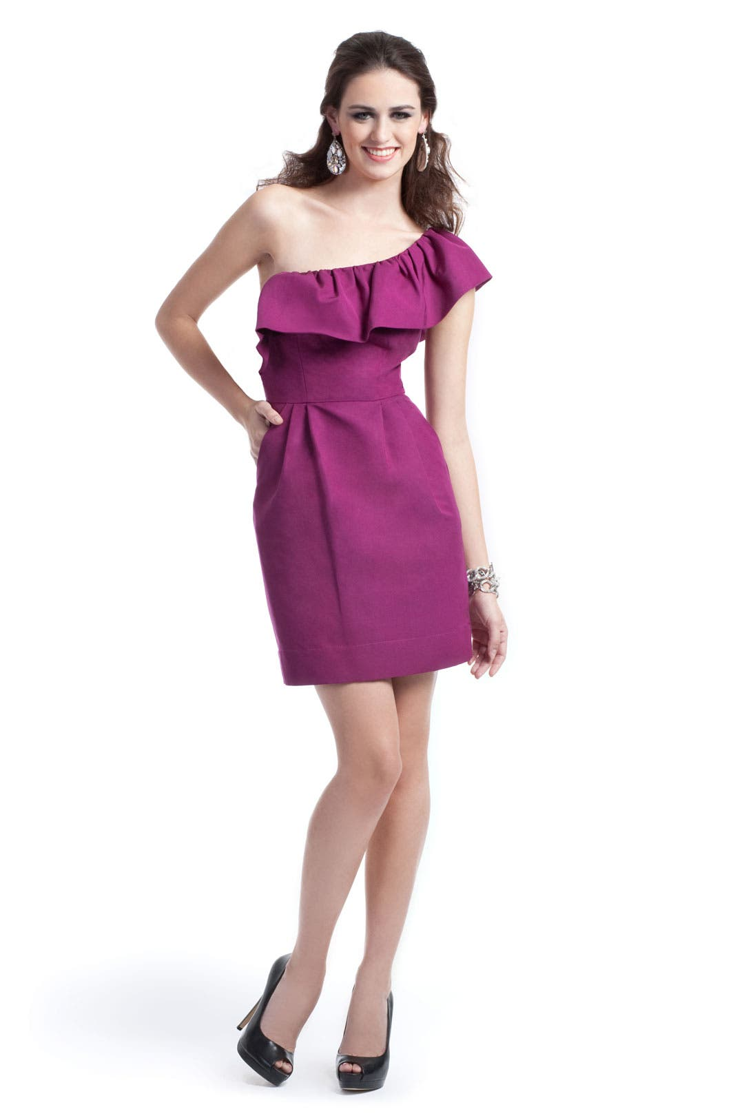 Berry Surprise Dress by Rebecca Taylor