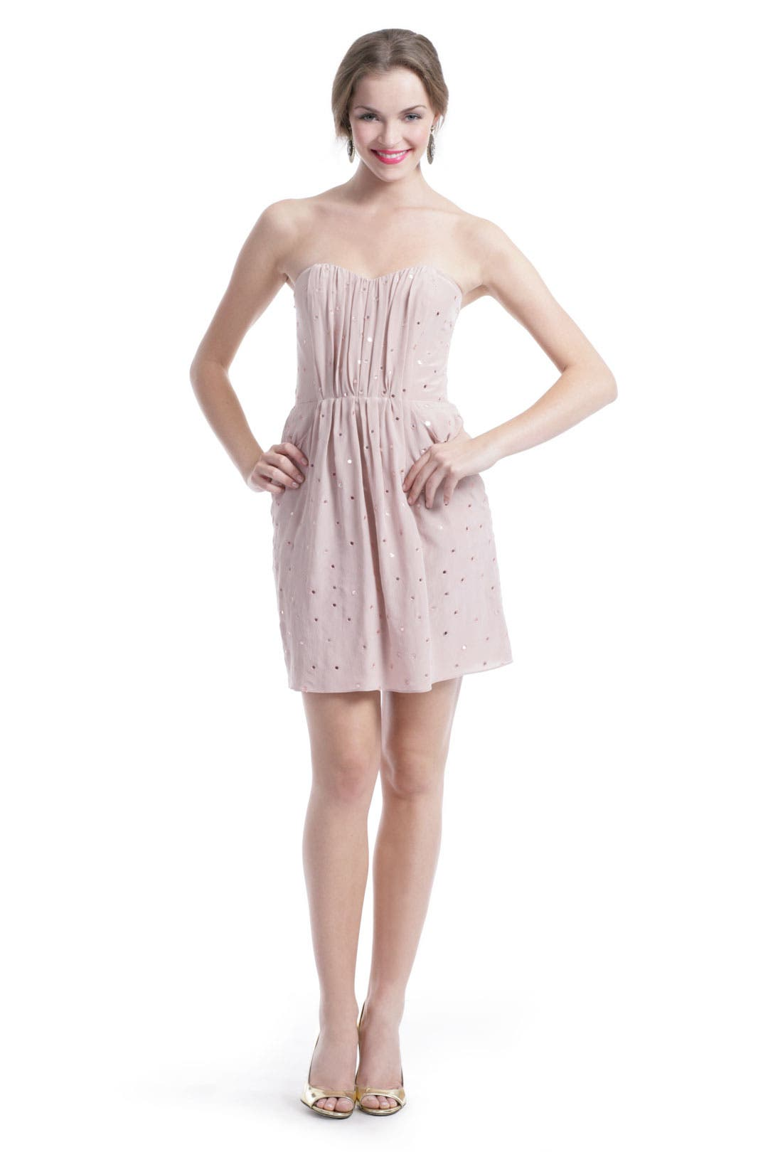 Blush Mirror Dress by Rebecca Taylor