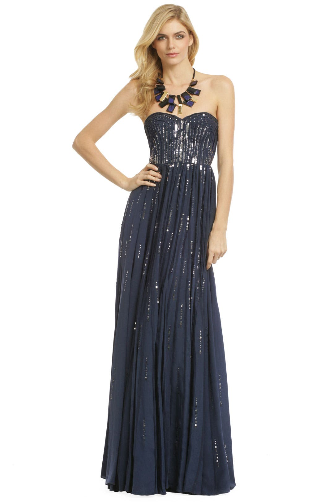 Meteor Shower Gown by Rebecca Taylor