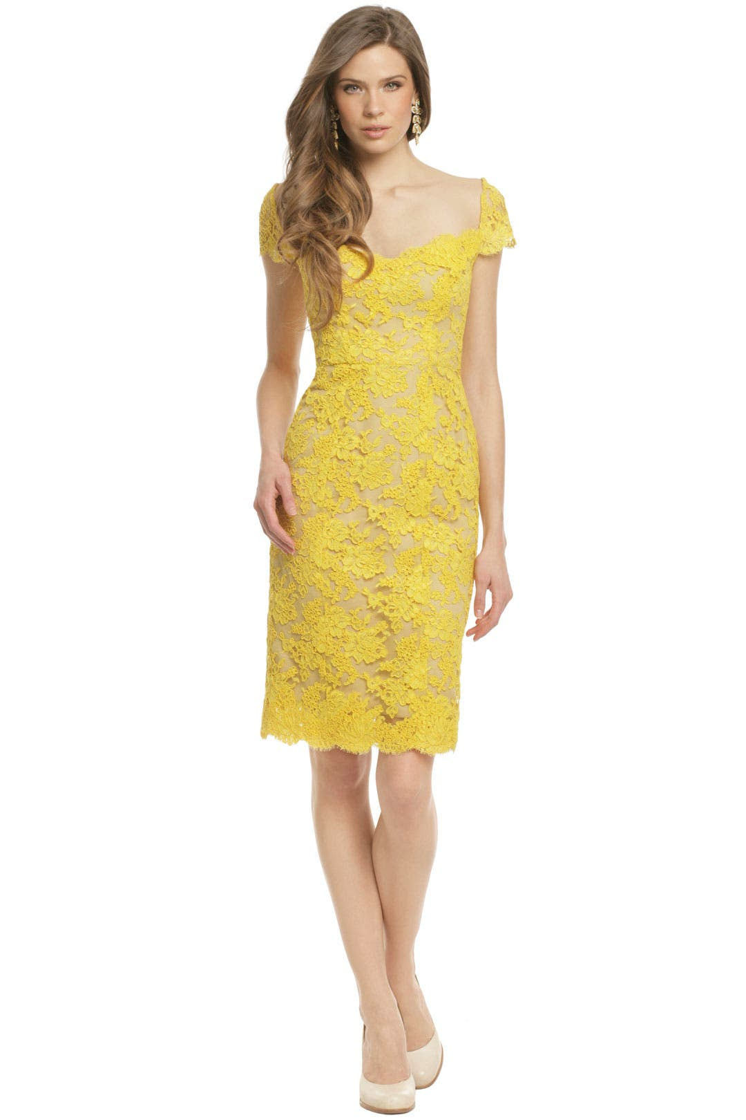 Canary Bennet Dress by Reem Acra