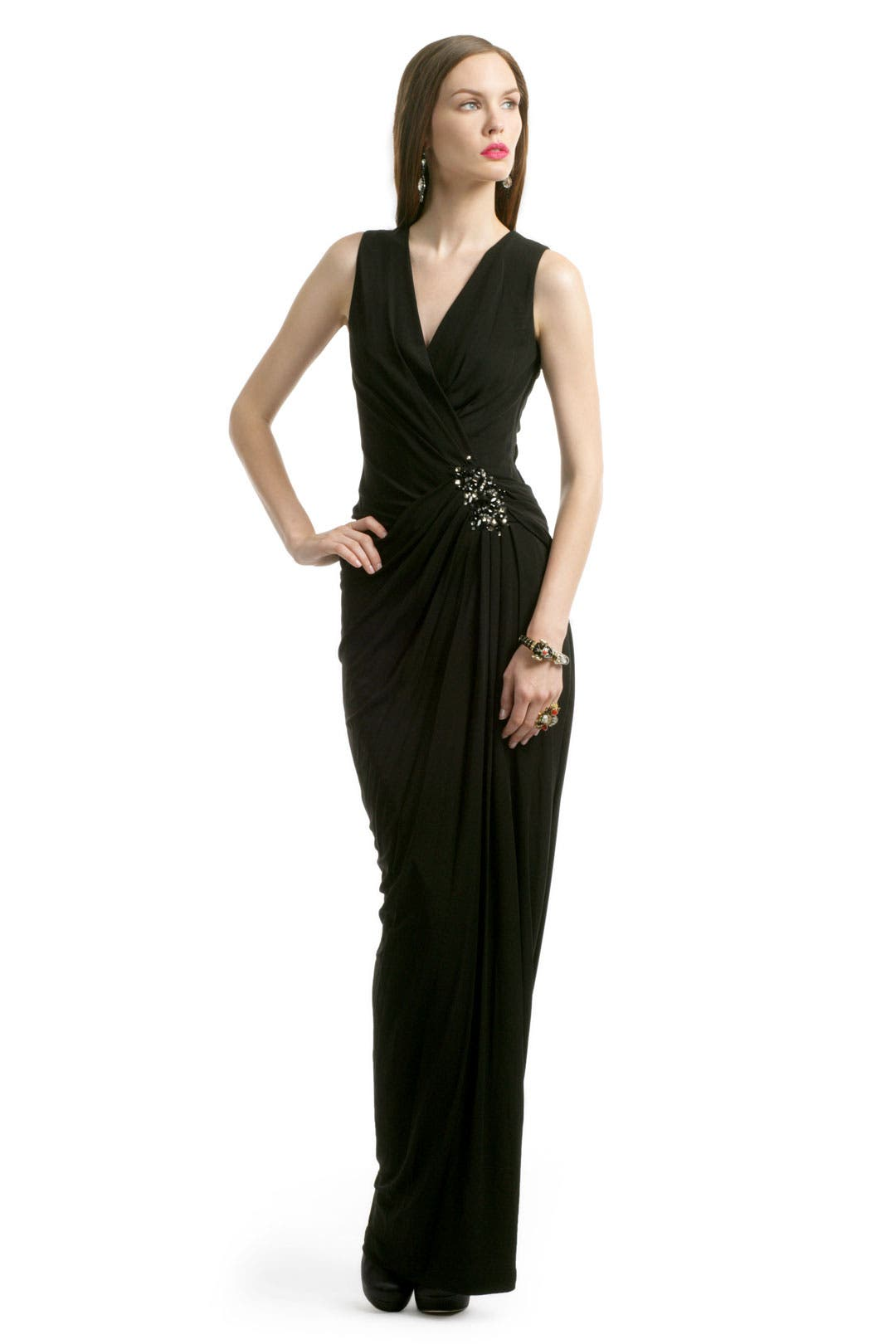 Galaxy Dust Gown by Robert Rodriguez Black Label