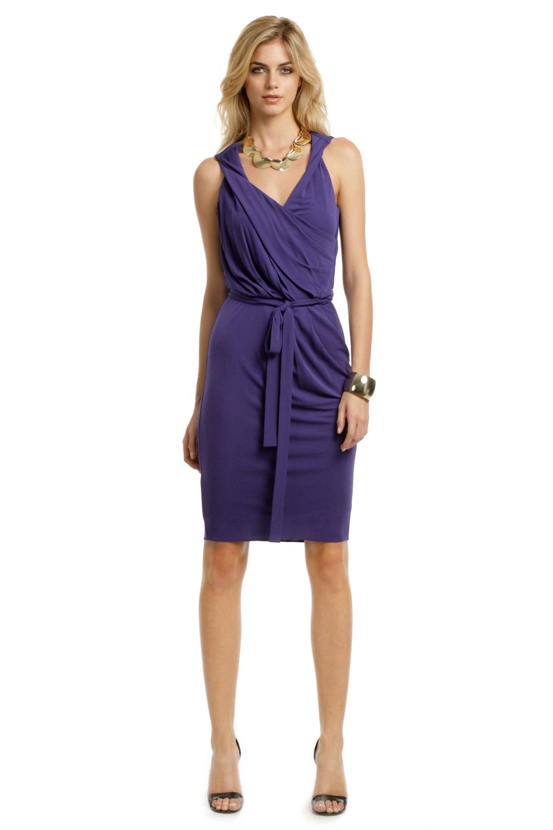Modern Juliet Jersey Dress by Robert Rodriguez Black Label