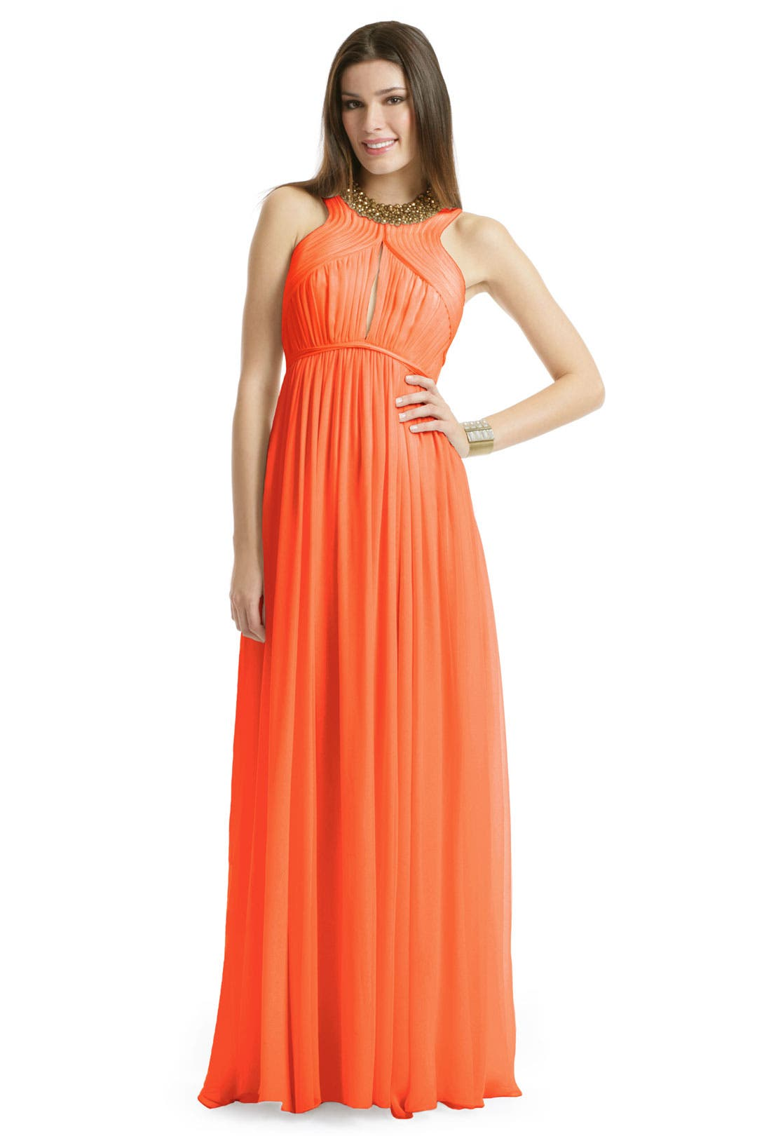 Orange Slice Gown by Robert Rodriguez Black Label