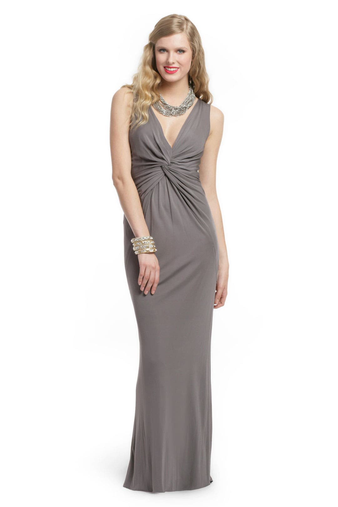 Silver Bullet Gown by Robert Rodriguez Black Label
