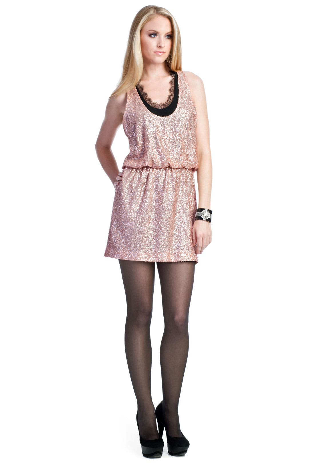 Make You Blush Dress by Robert Rodriguez Collection