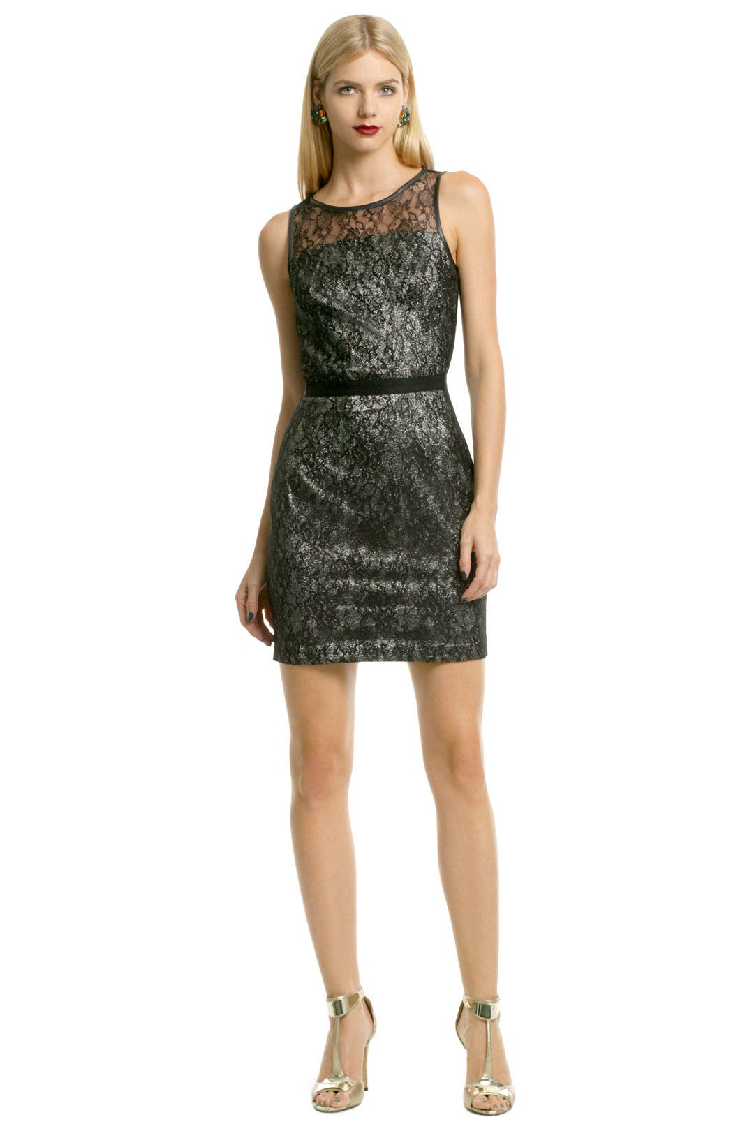 Chrome Lace Sheath by Sachin + Babi