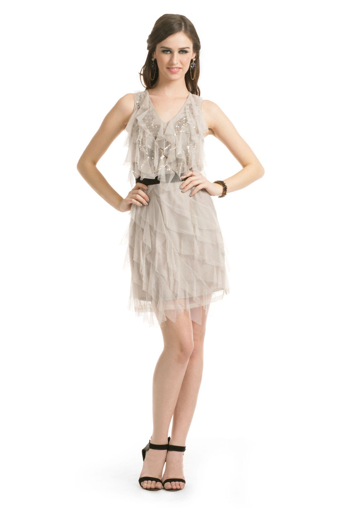 Gray Gatsby Dress by Sachin + Babi