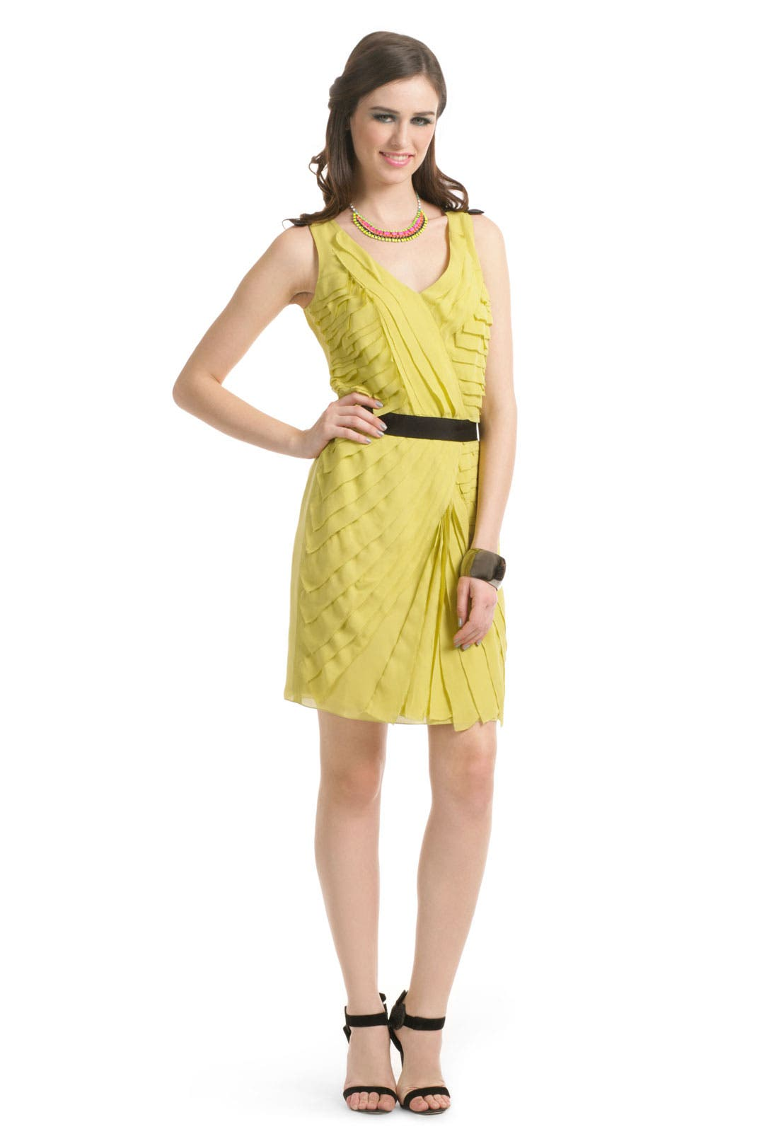 Love me in Lemon Dress by Sachin + Babi