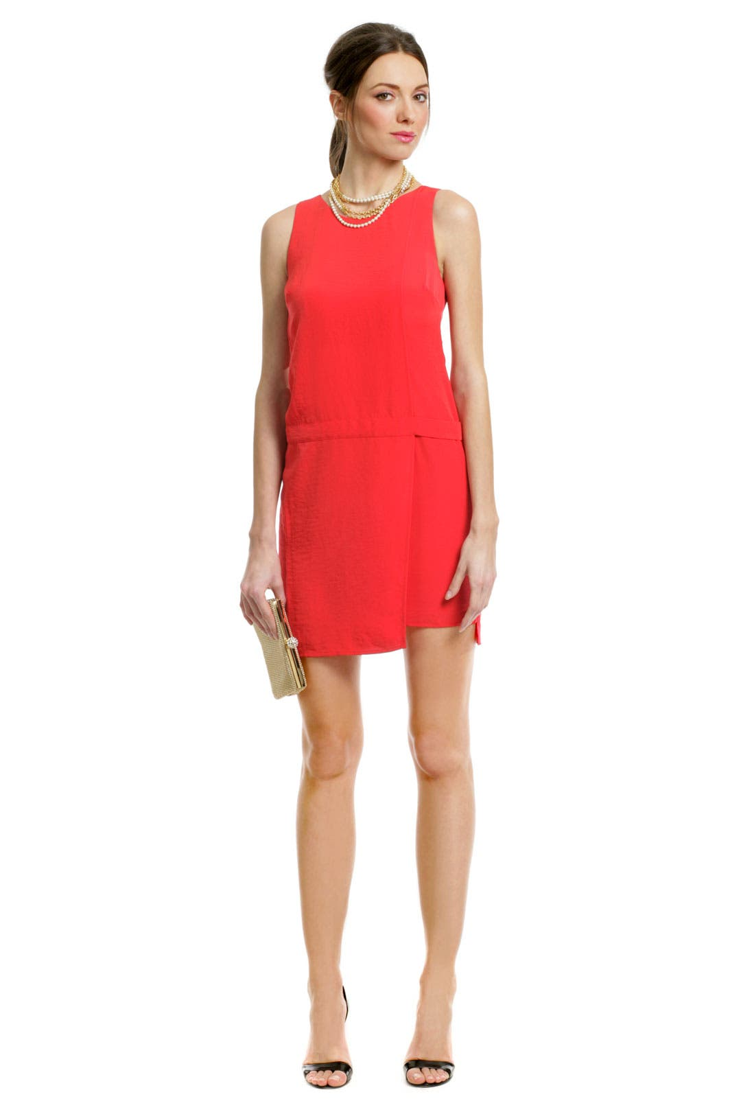 Primary Contrast Zip Dress by Sachin + Babi