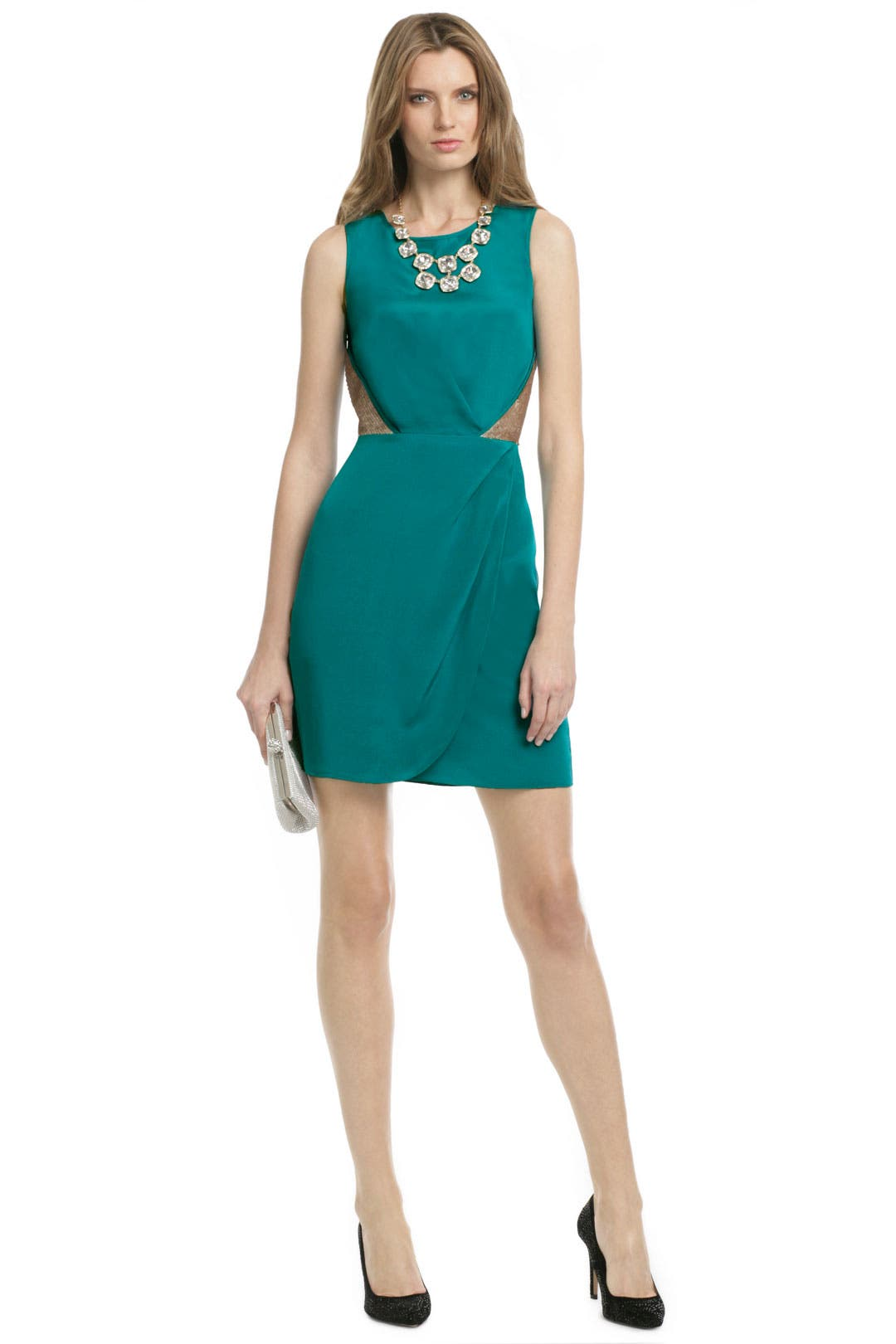 Teal Glow Sheath by Sachin + Babi