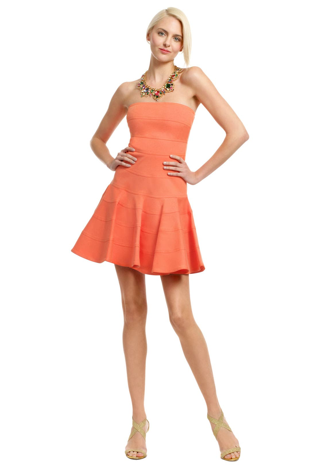 Orange Peel Dress by See by Chloe