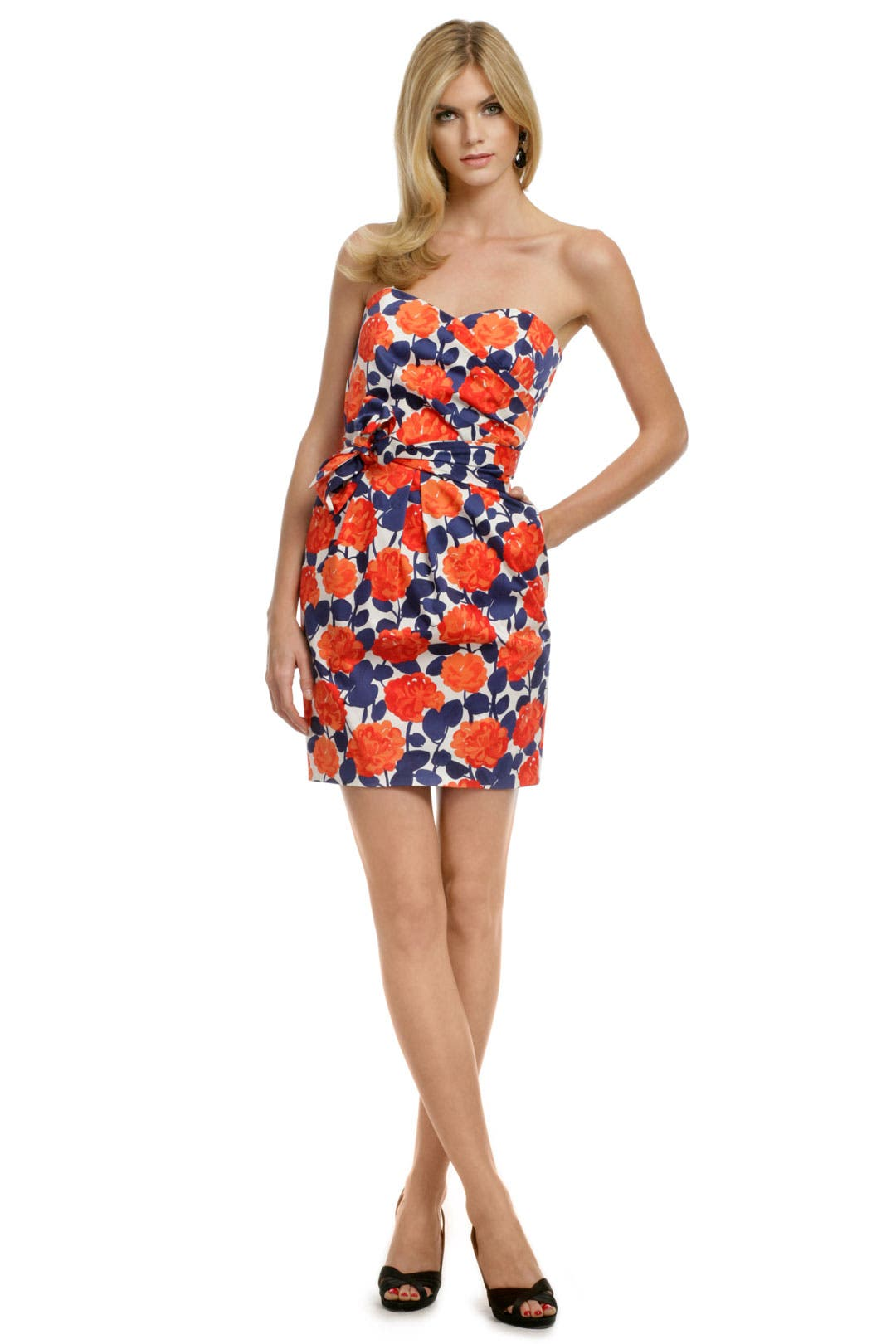 Floral Dixie Dress by Shoshanna