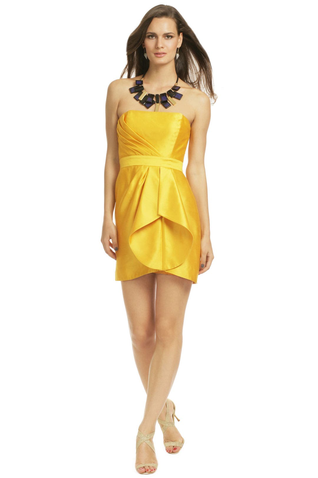 Heart Of Gold Dress by Shoshanna