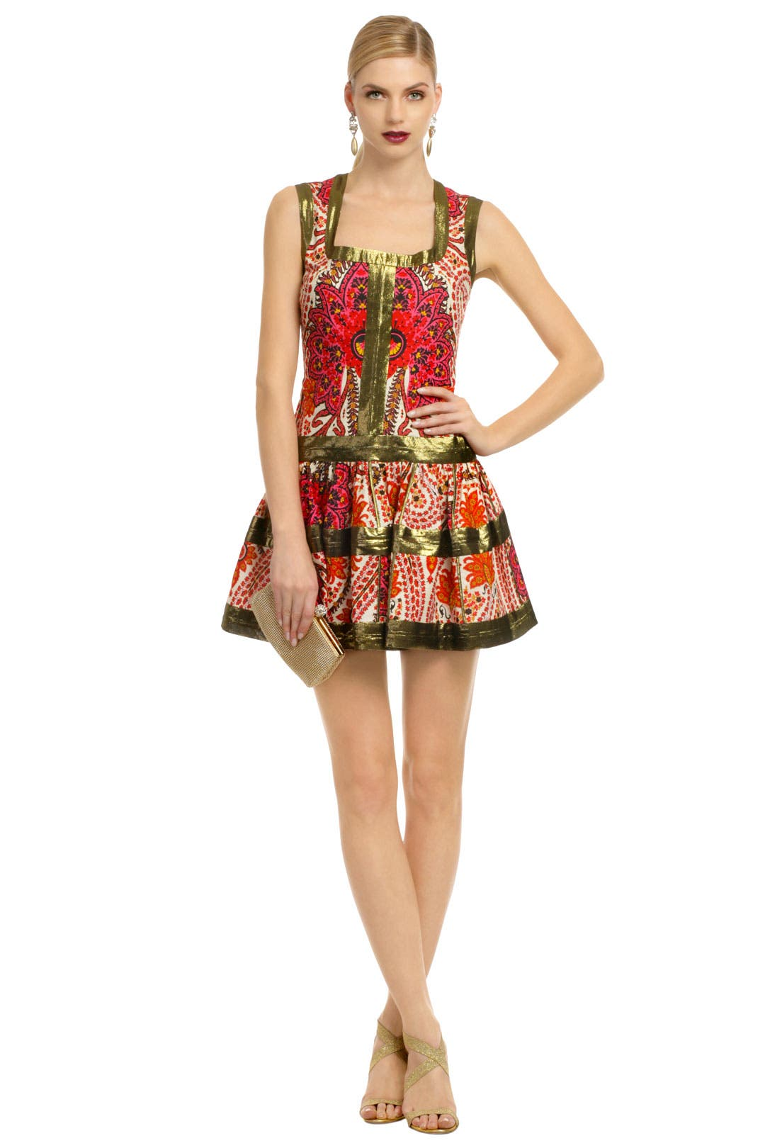 Pumped Up Paisley Dress by Thakoon
