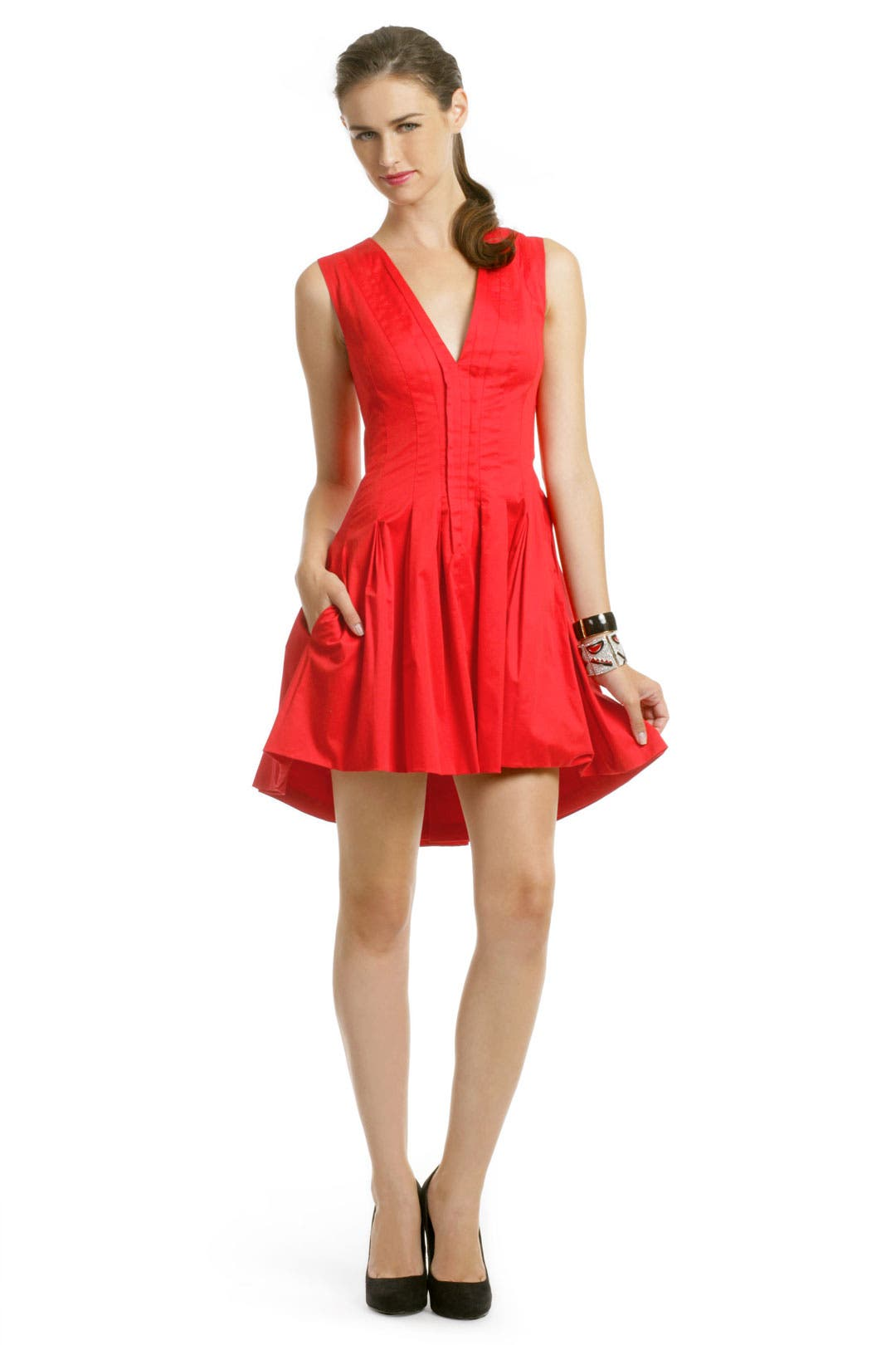 Red Hot Addiction Dress by Thakoon