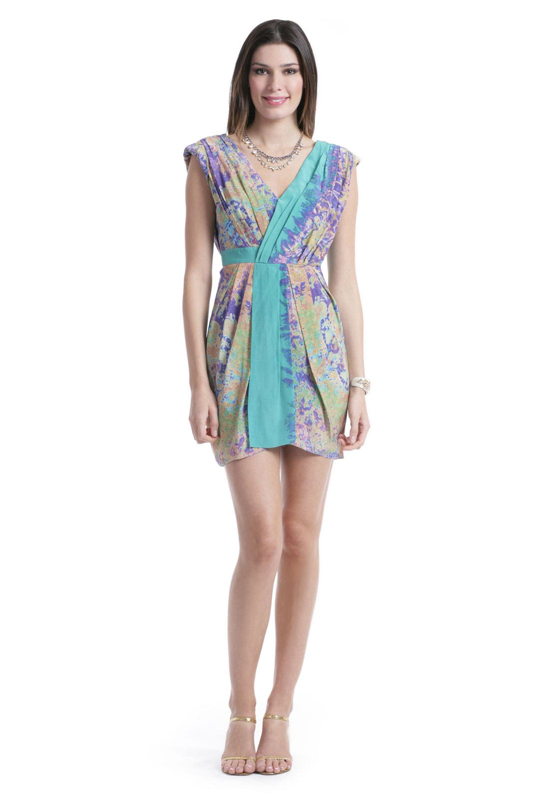 Aruba Splash Dress by Tibi