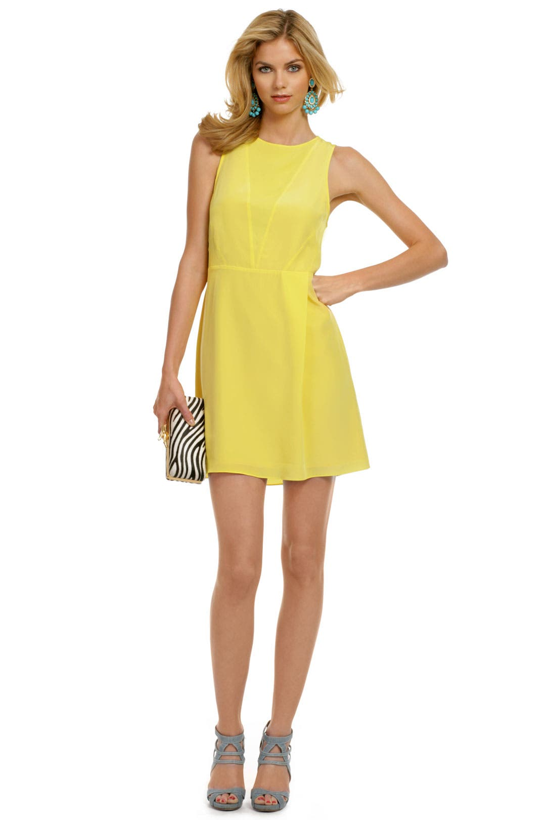 Blinded by the Light Dress by Tibi