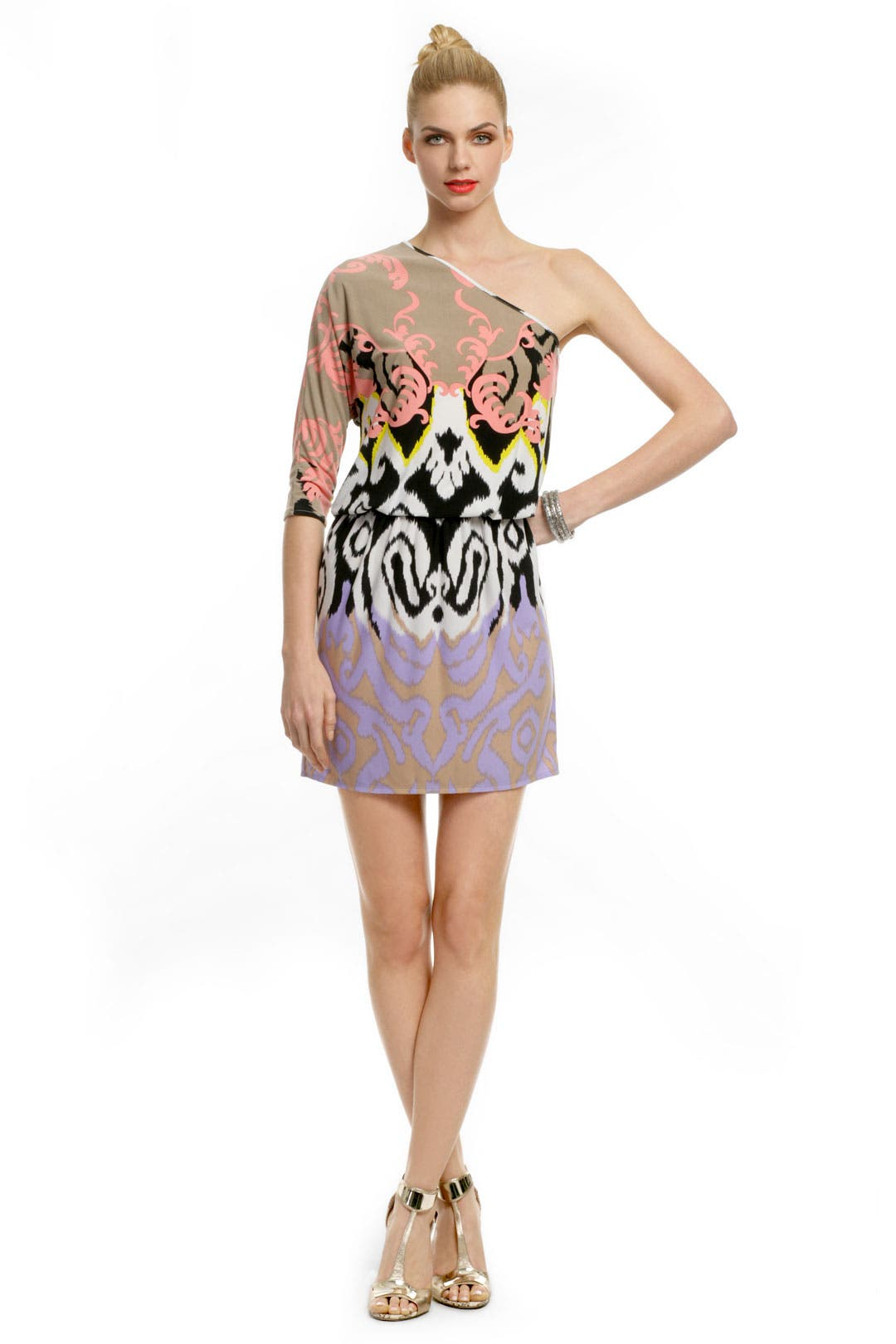 Cairo Print Dress by Tibi