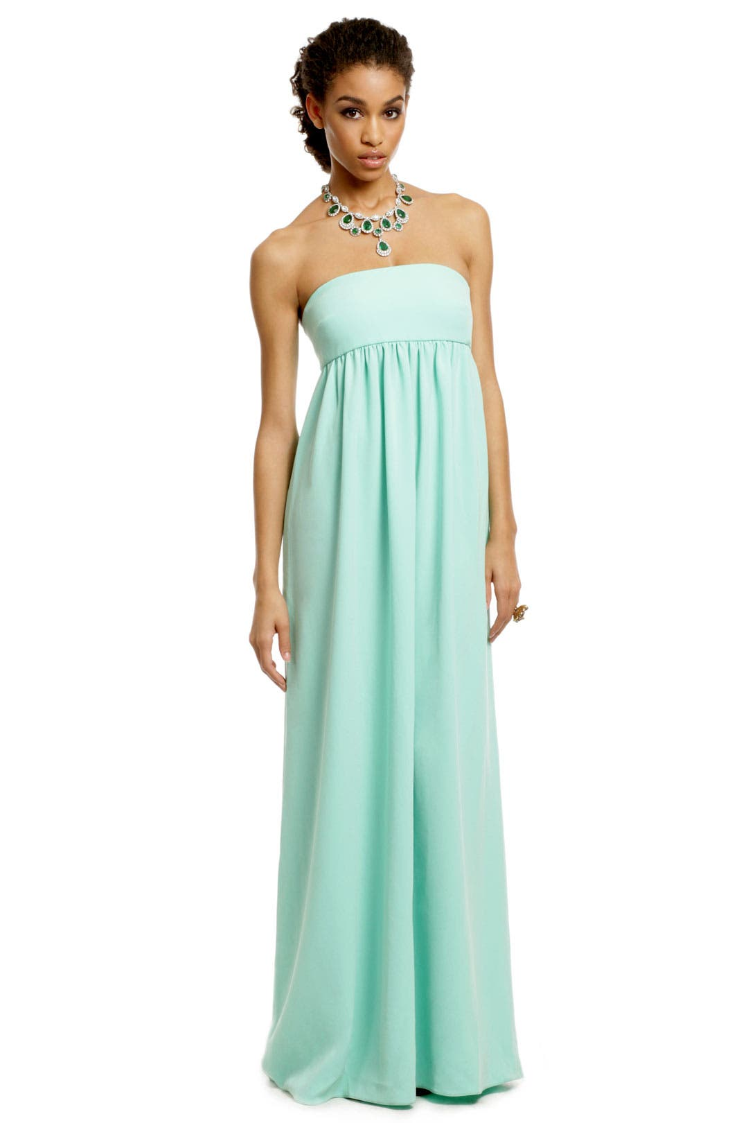 Mint Kisses Gown by Tibi