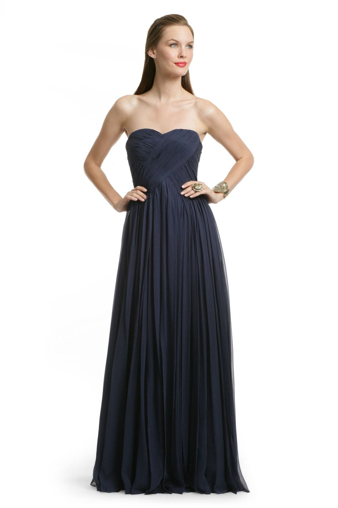 Navy Knotting Hill Gown by Tibi