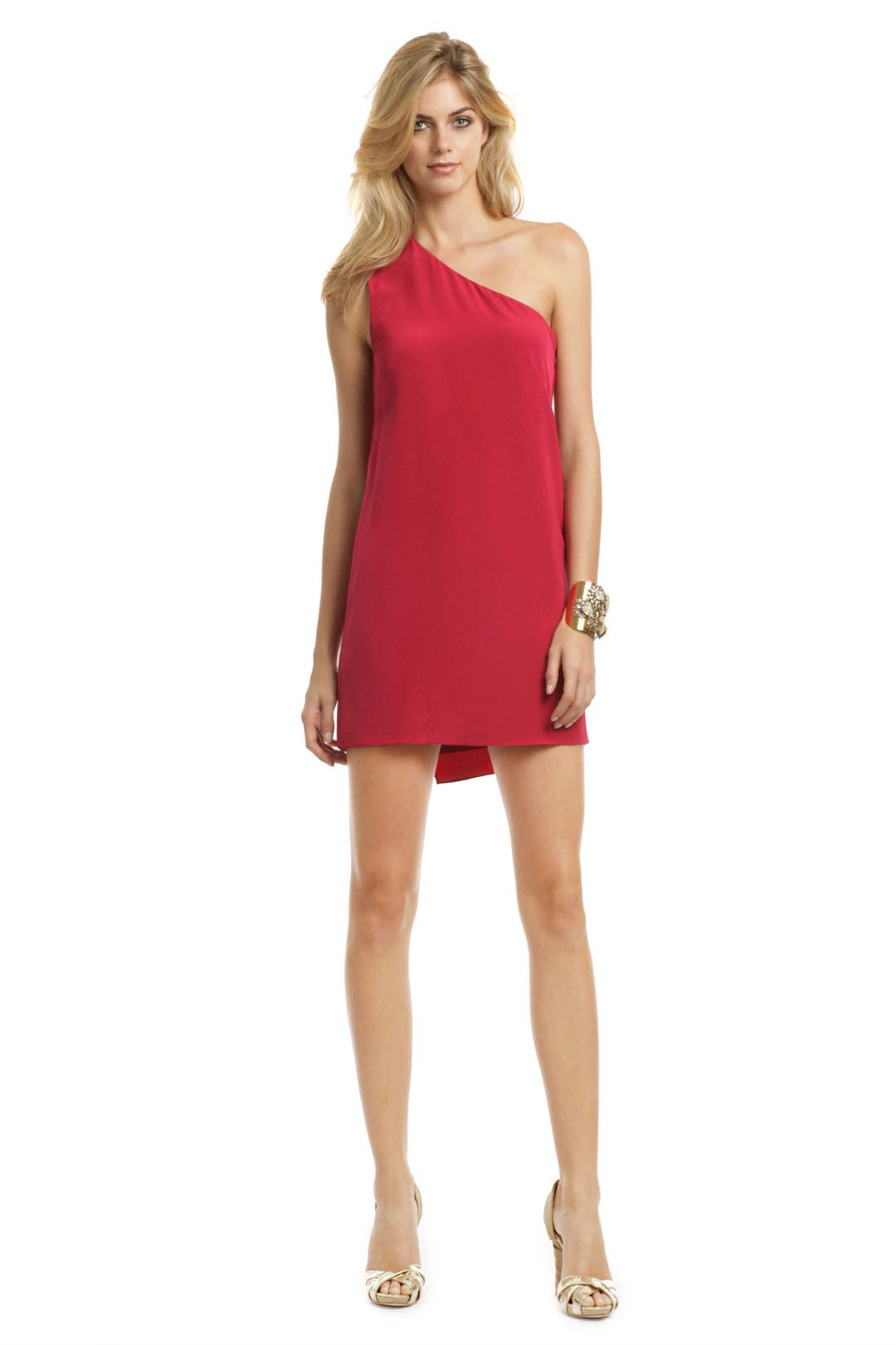 Psychedelic Red Dress by Tibi