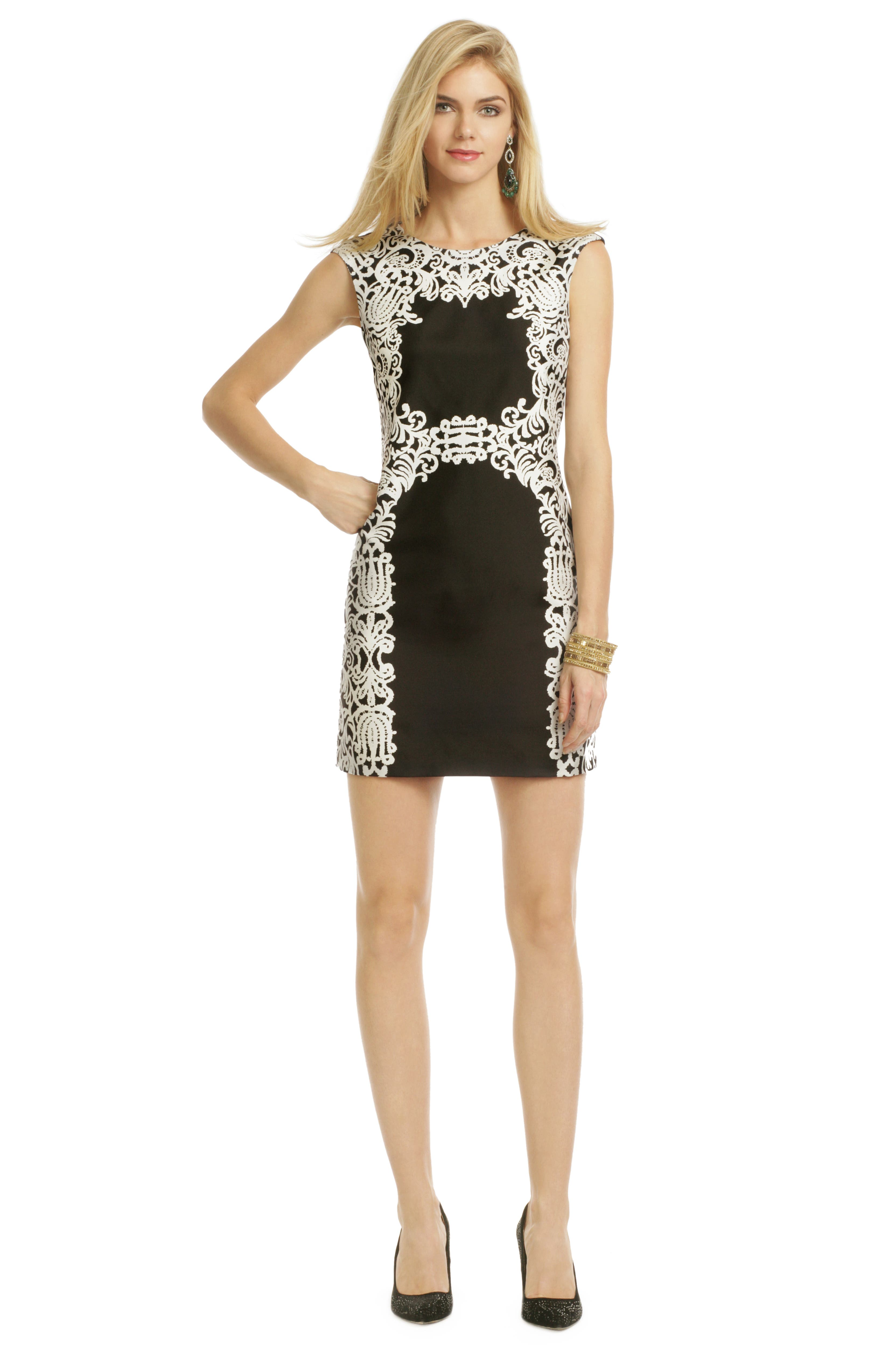 Self Reflection Dress by Tibi