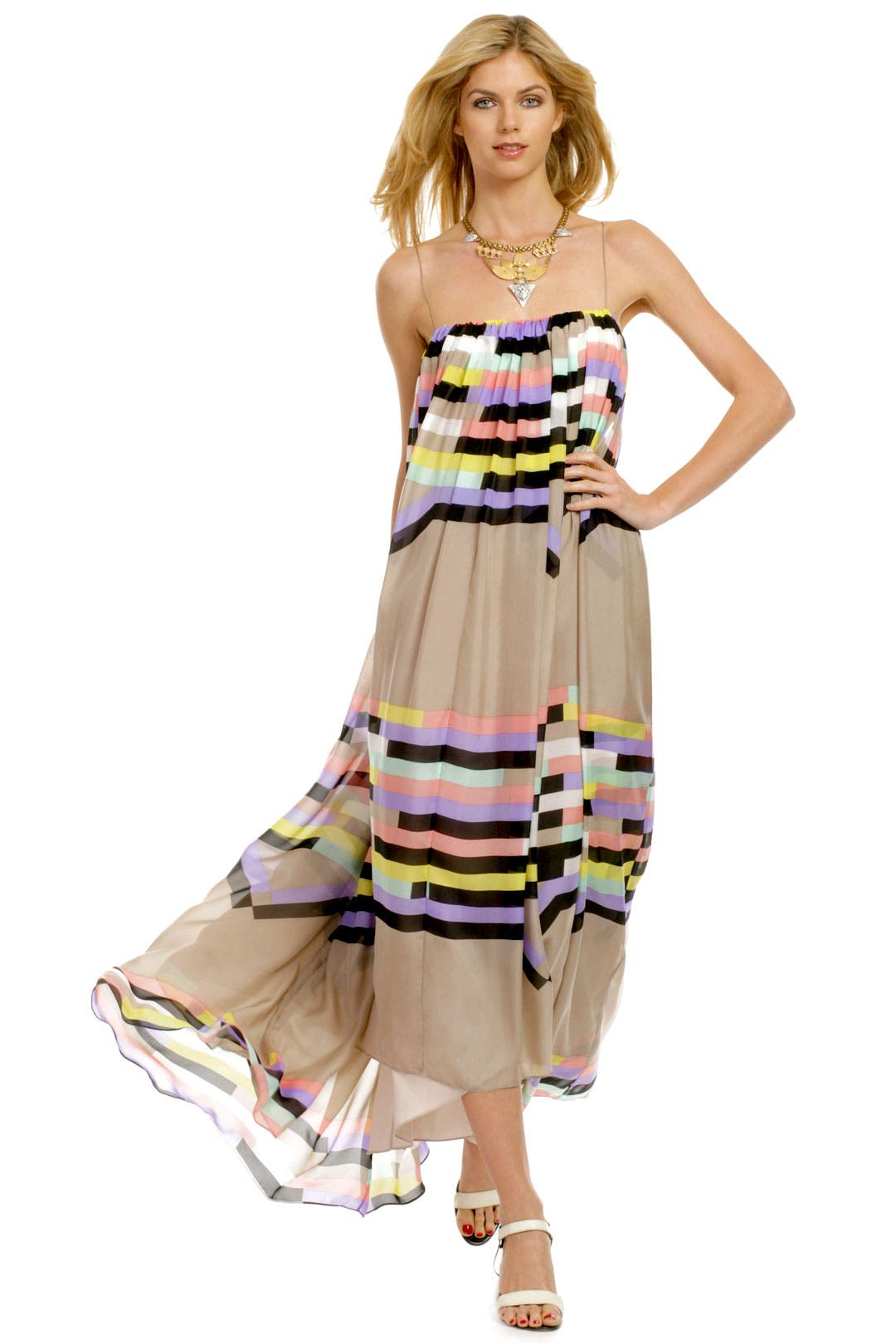 Venice Beach Maxi by Tibi