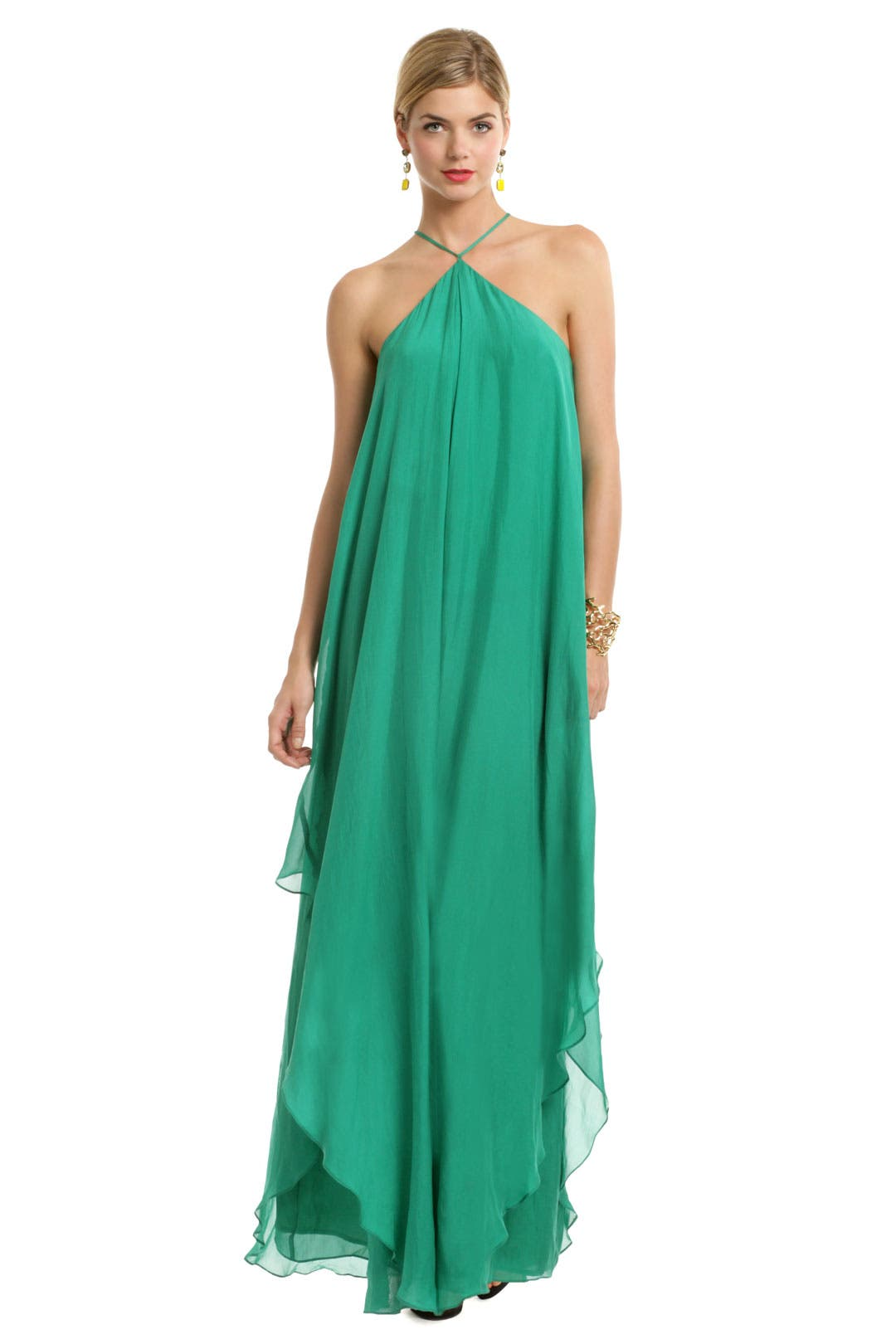 St. John Draped Gown by Trina Turk