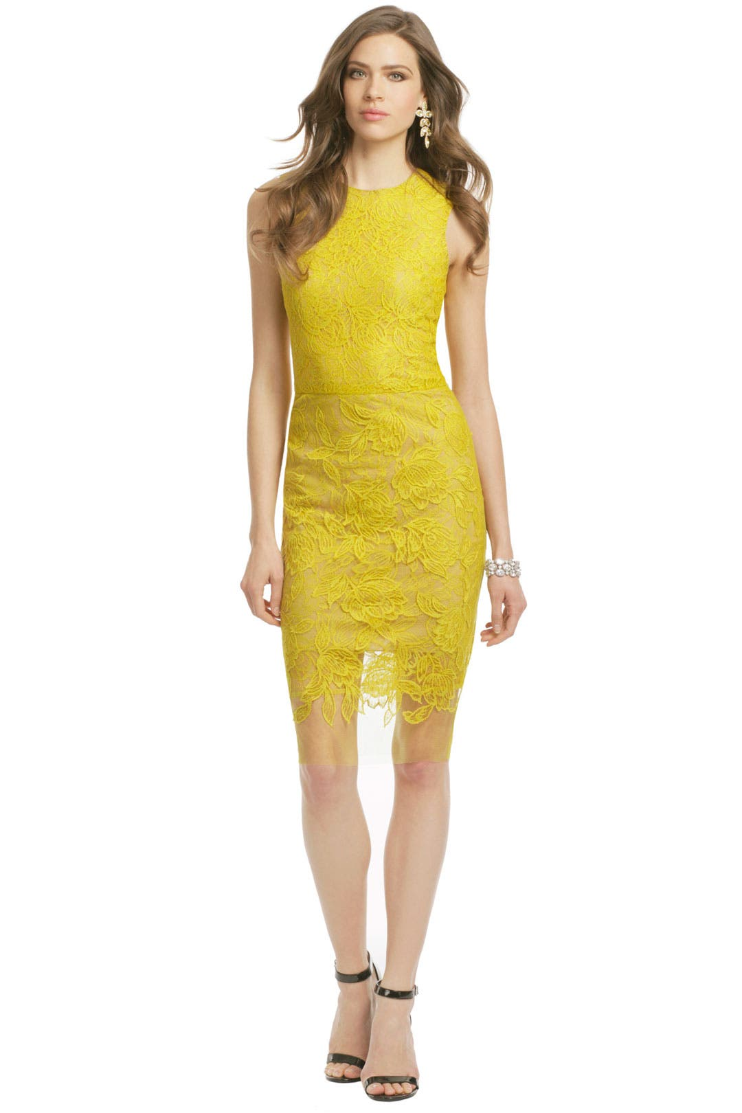 Honey Glazed Sheath by Vera Wang