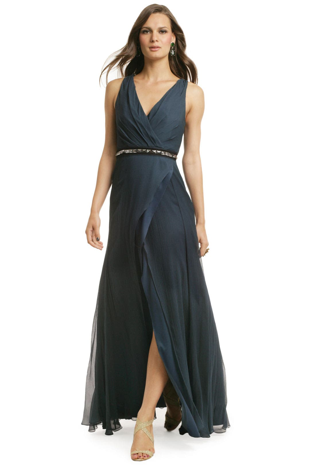 Want And Wonder Gown by Vera Wang Lavender