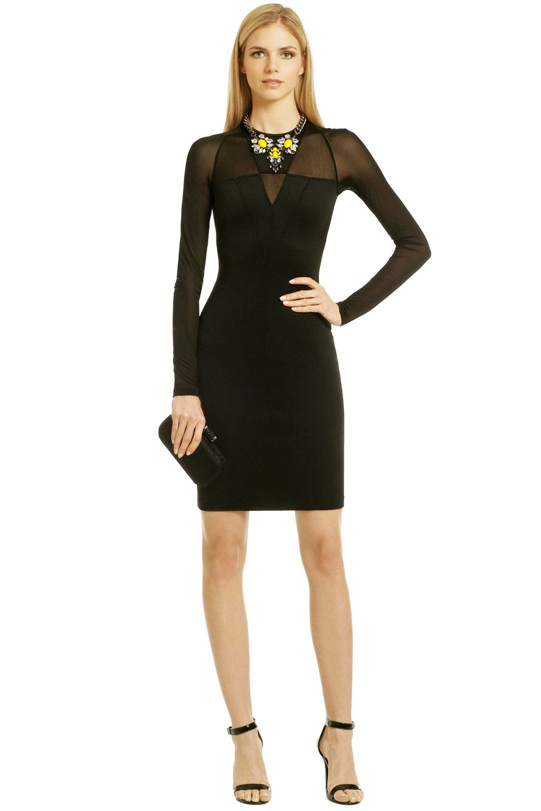 Sharp Turn Dress by Versace Collection