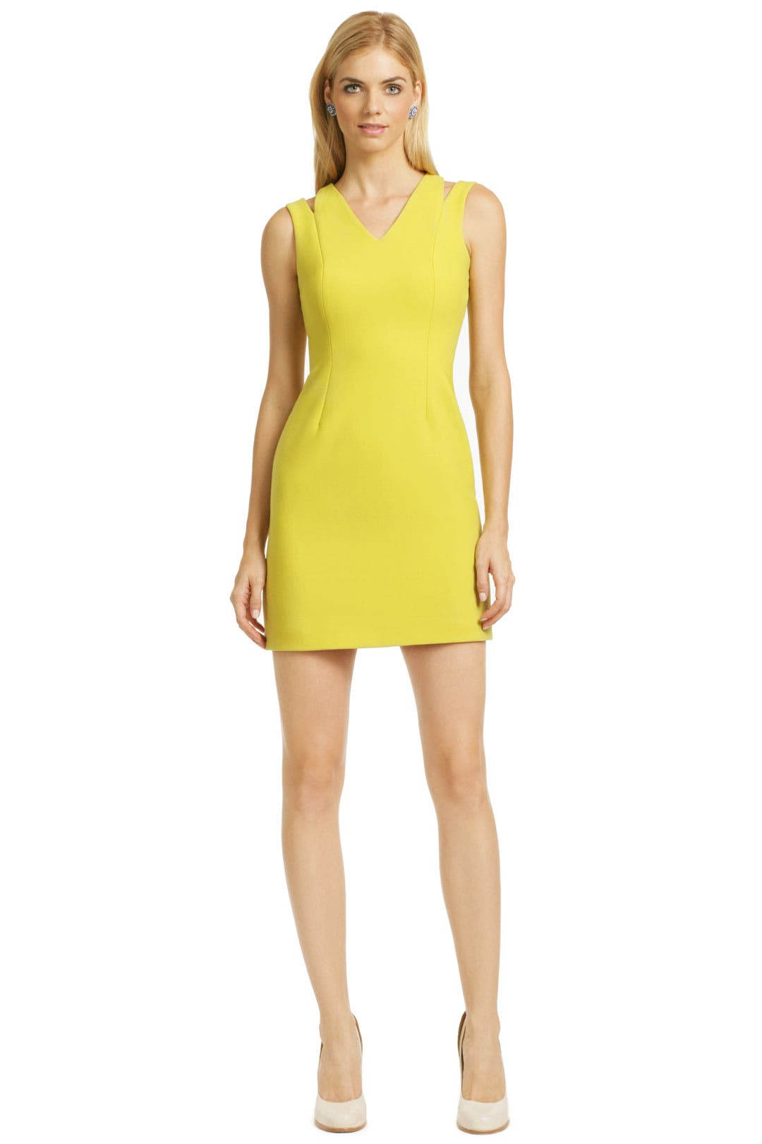 Lemon Lime Tart Sheath by Versus by Versace