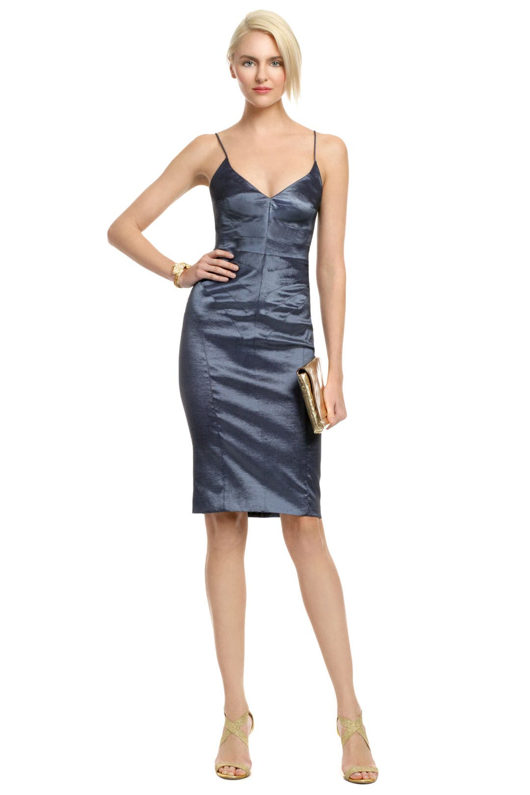 Night Ocean Mist Dress by Z Spoke Zac Posen