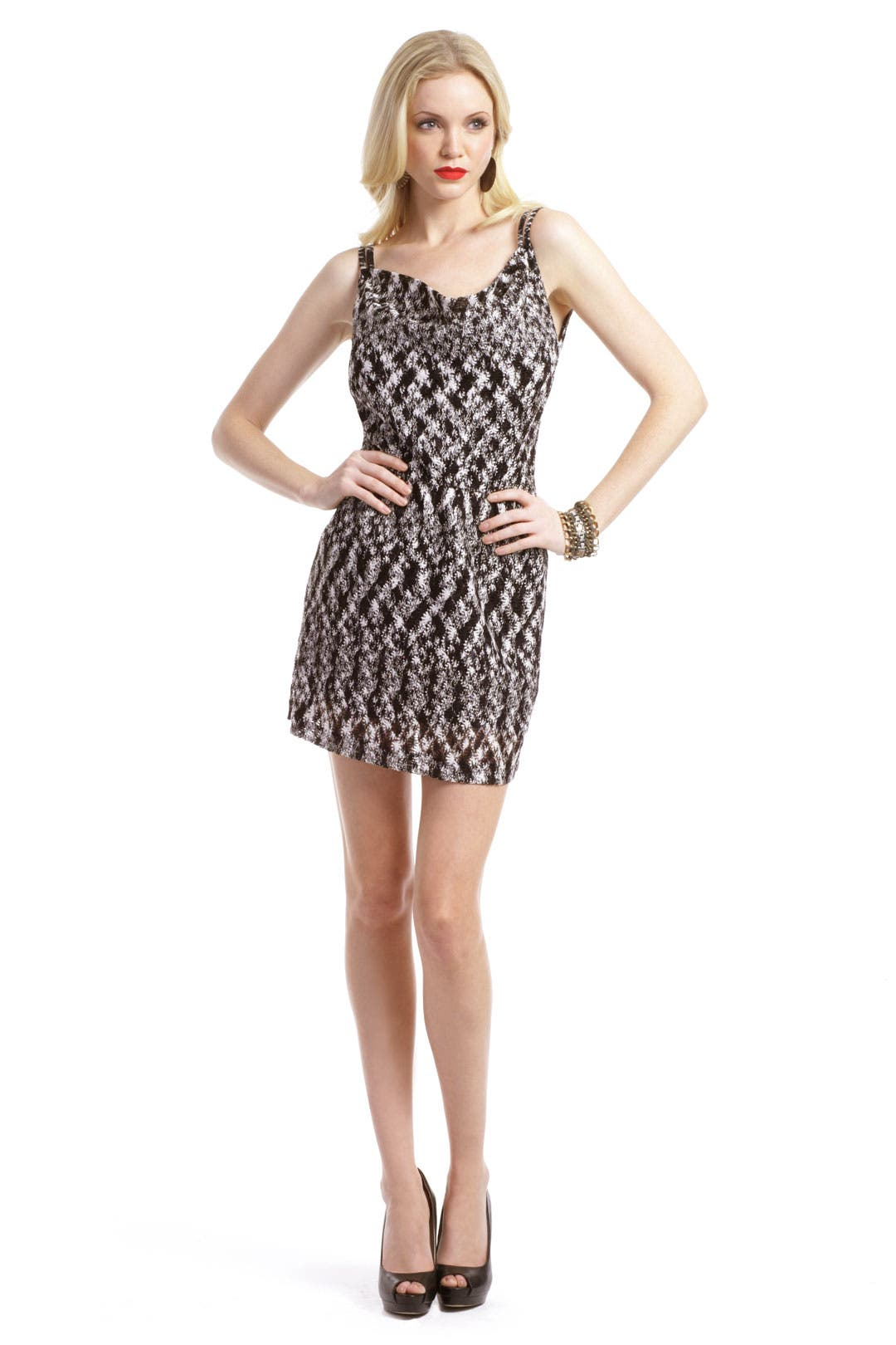 Speckled Mini Dress by Missoni